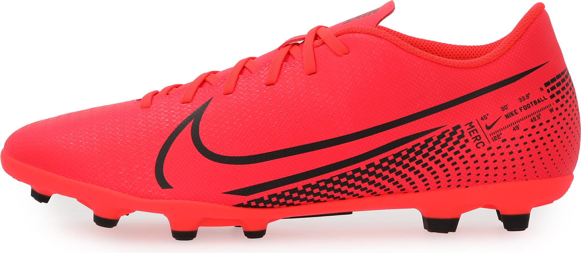 Nike Бутсы мужские Nike Mercurial Vapor 13 Club MG, размер 41 бутсы детские nike vapor 13 club mg ps at8162 010