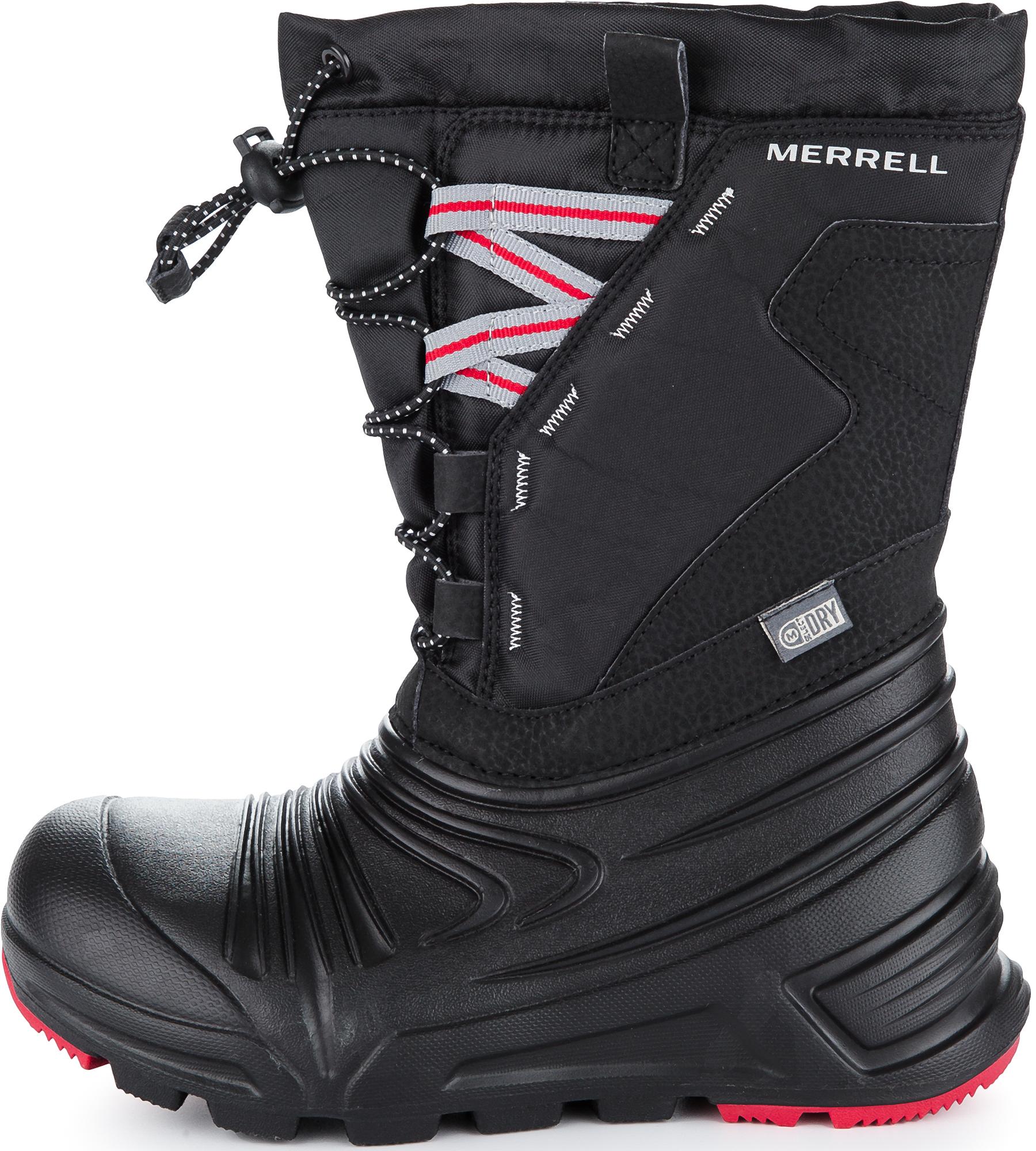 Merrell Ботинки утепленные для мальчиков Merrell M-Snow Quest Lite 2.0, размер 34,5 цены онлайн