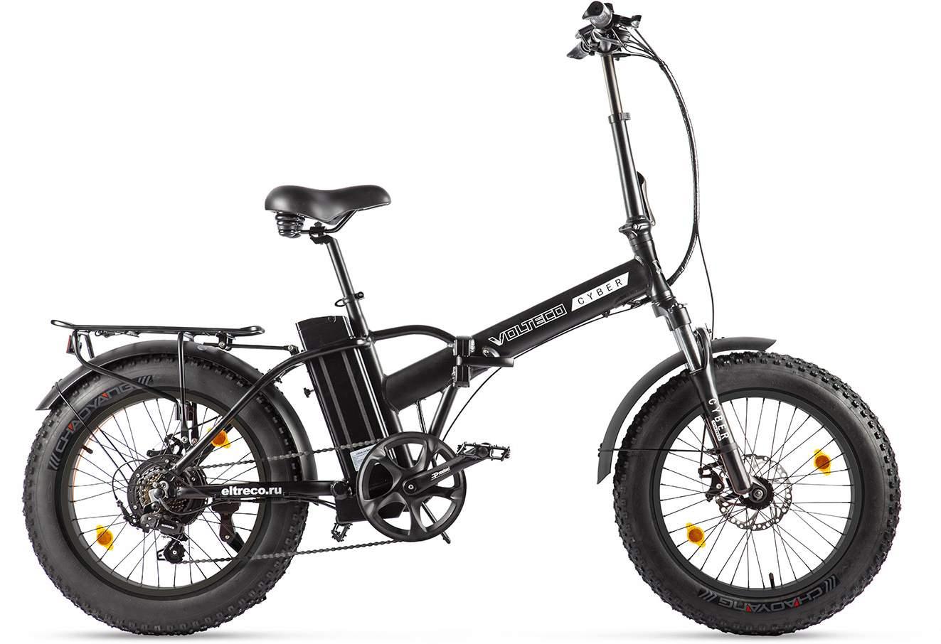 цена на Eltreco Электровелосипед Eltreco Volteco Cyber