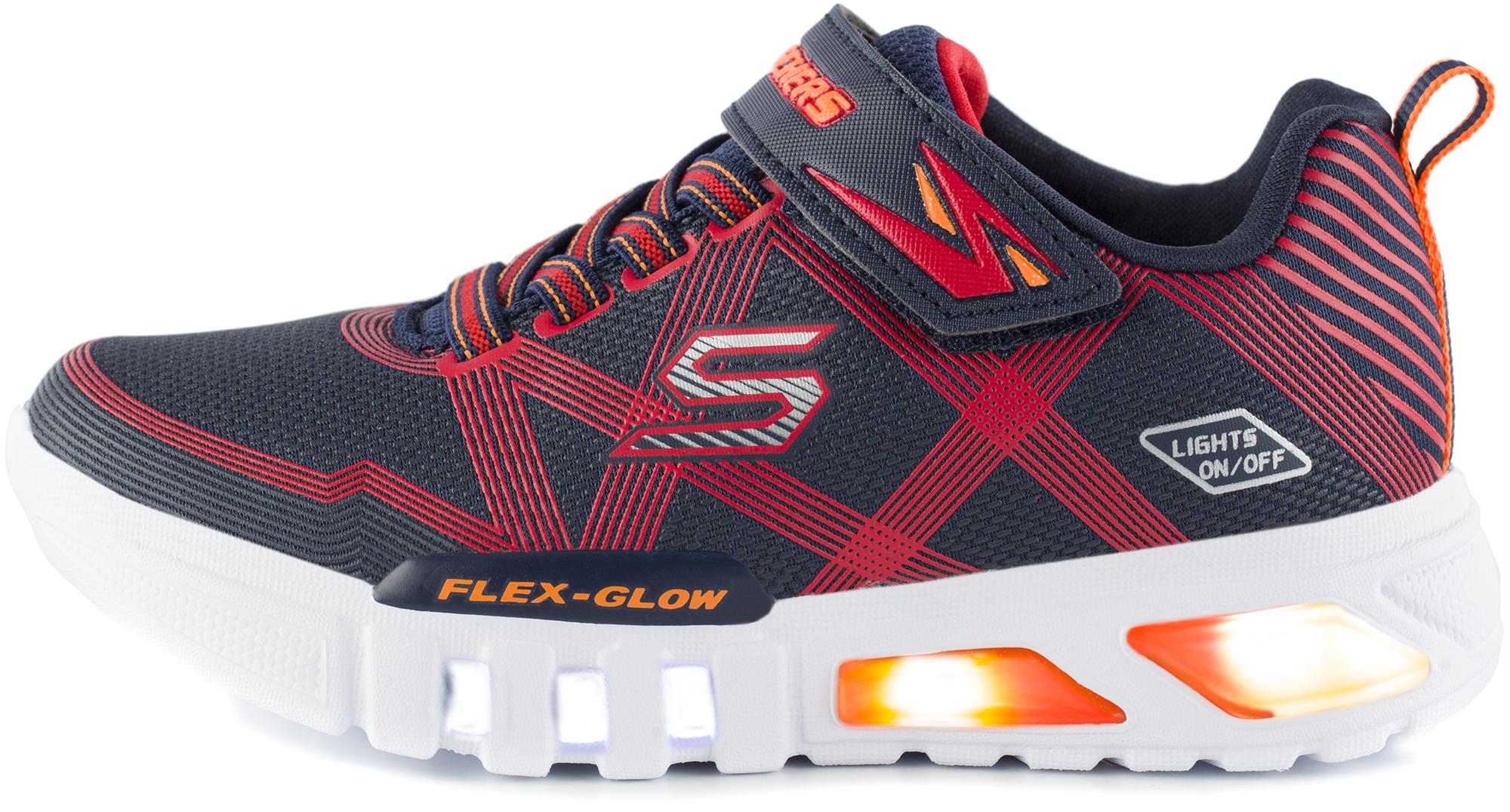 Skechers Кроссовки для мальчиков Skechers Flex-Glow, размер 32