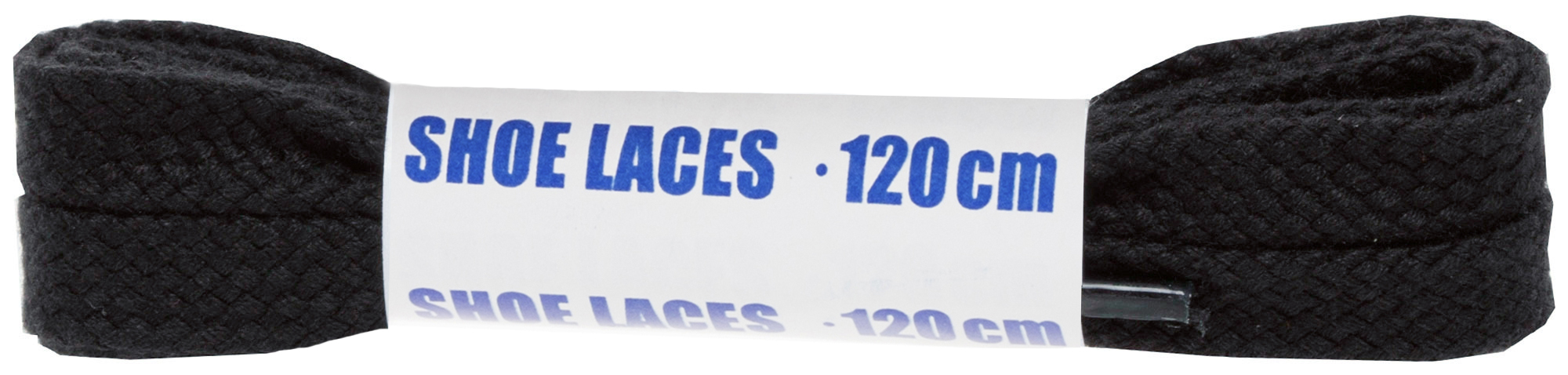 Woly Шнурки черные плоские Sport, 120 см
