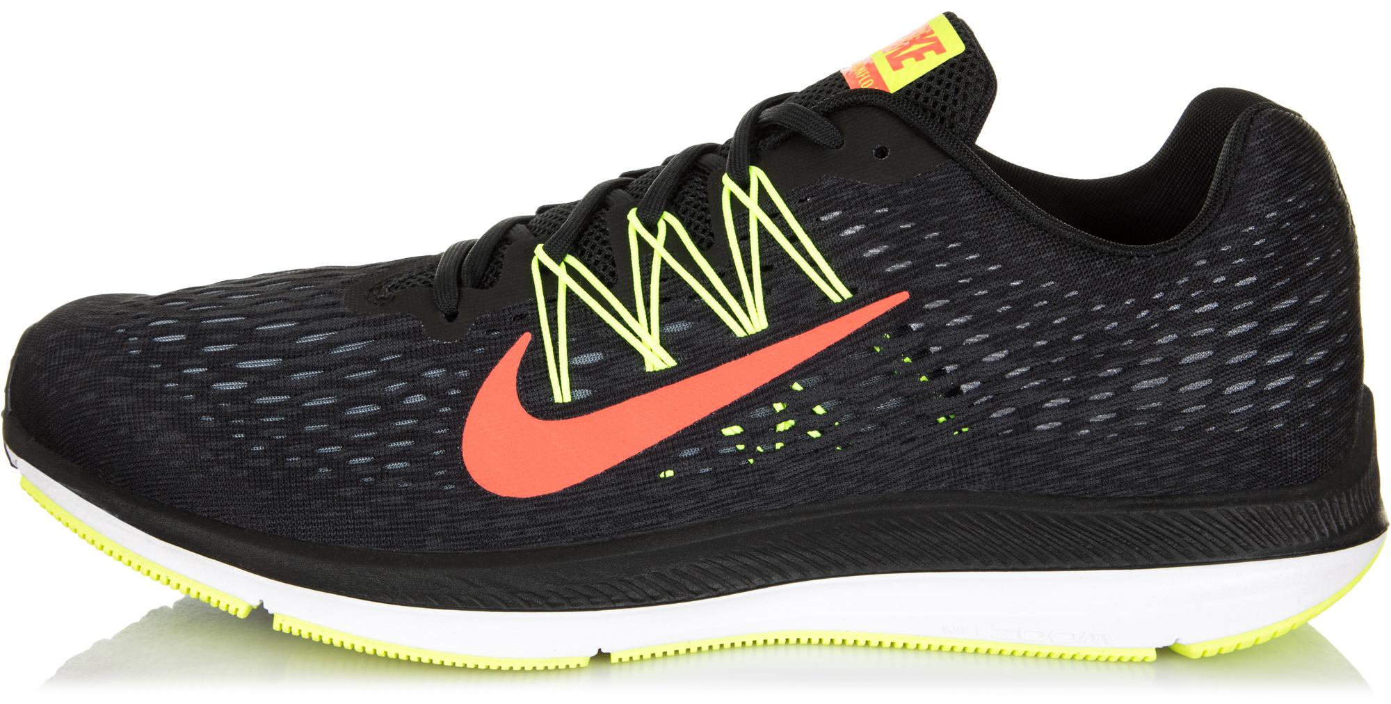 Nike Кроссовки мужские Nike Air Zoom Winflo 5, размер 44 кроссовки для тенниса мужские nike court lite цвет белый 845021 100 размер 10 5 43 5