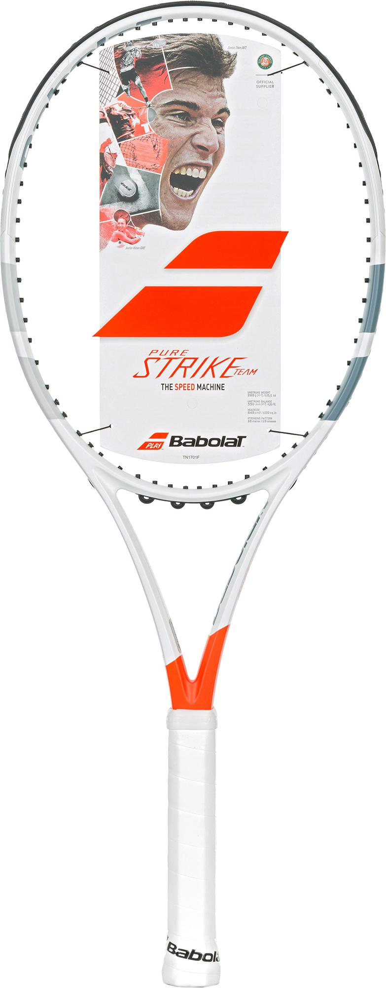 Babolat Ракетка для большого тенниса Babolat Pure Strike Team Unstrung теннисный инвентарь babolat tonic string
