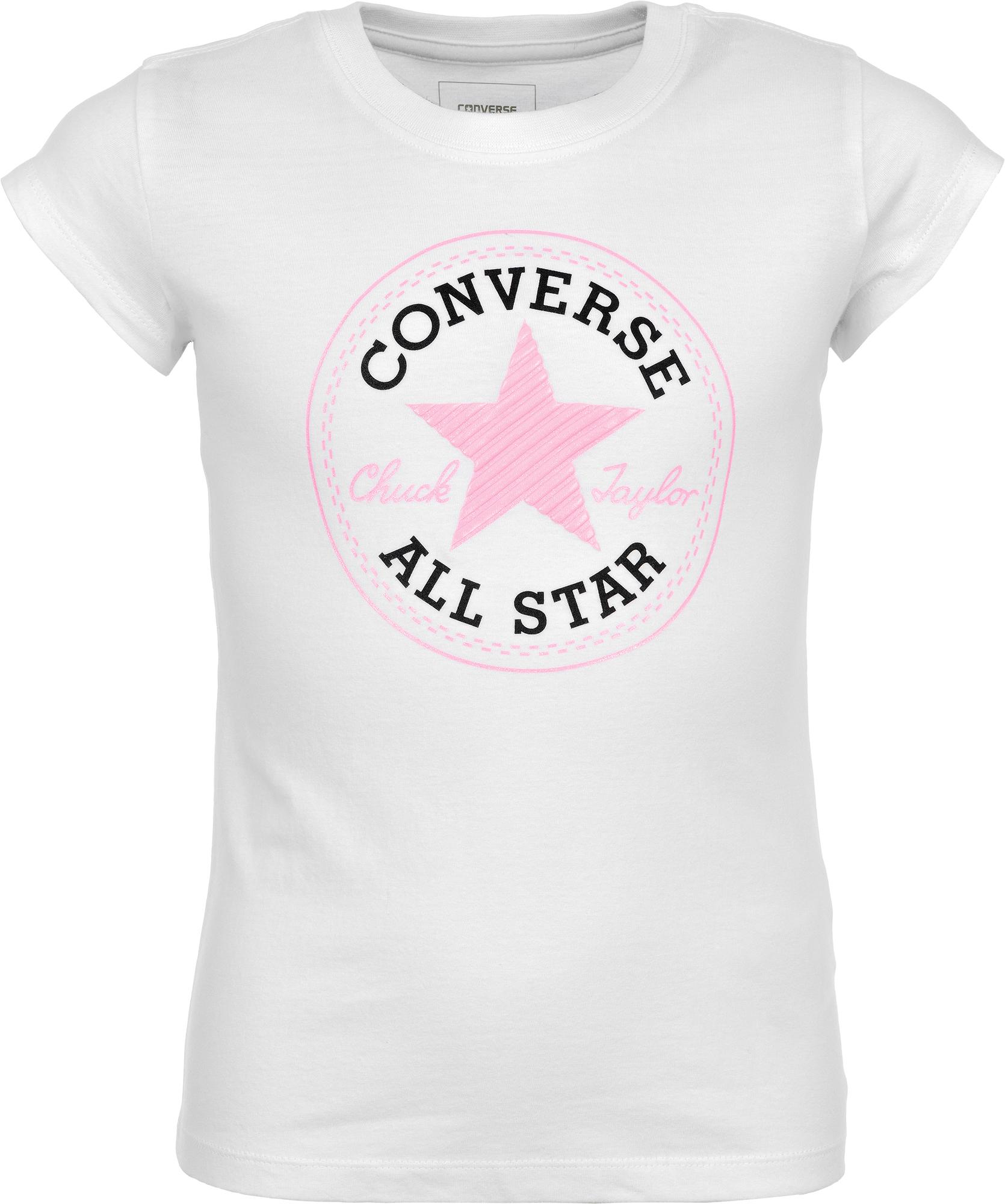 Converse Футболка для девочек Converse converse для детей