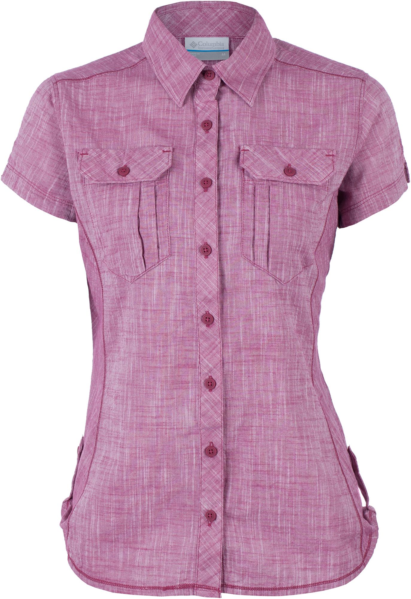 Columbia Рубашка женская Columbia Camp Henry, размер 52-54