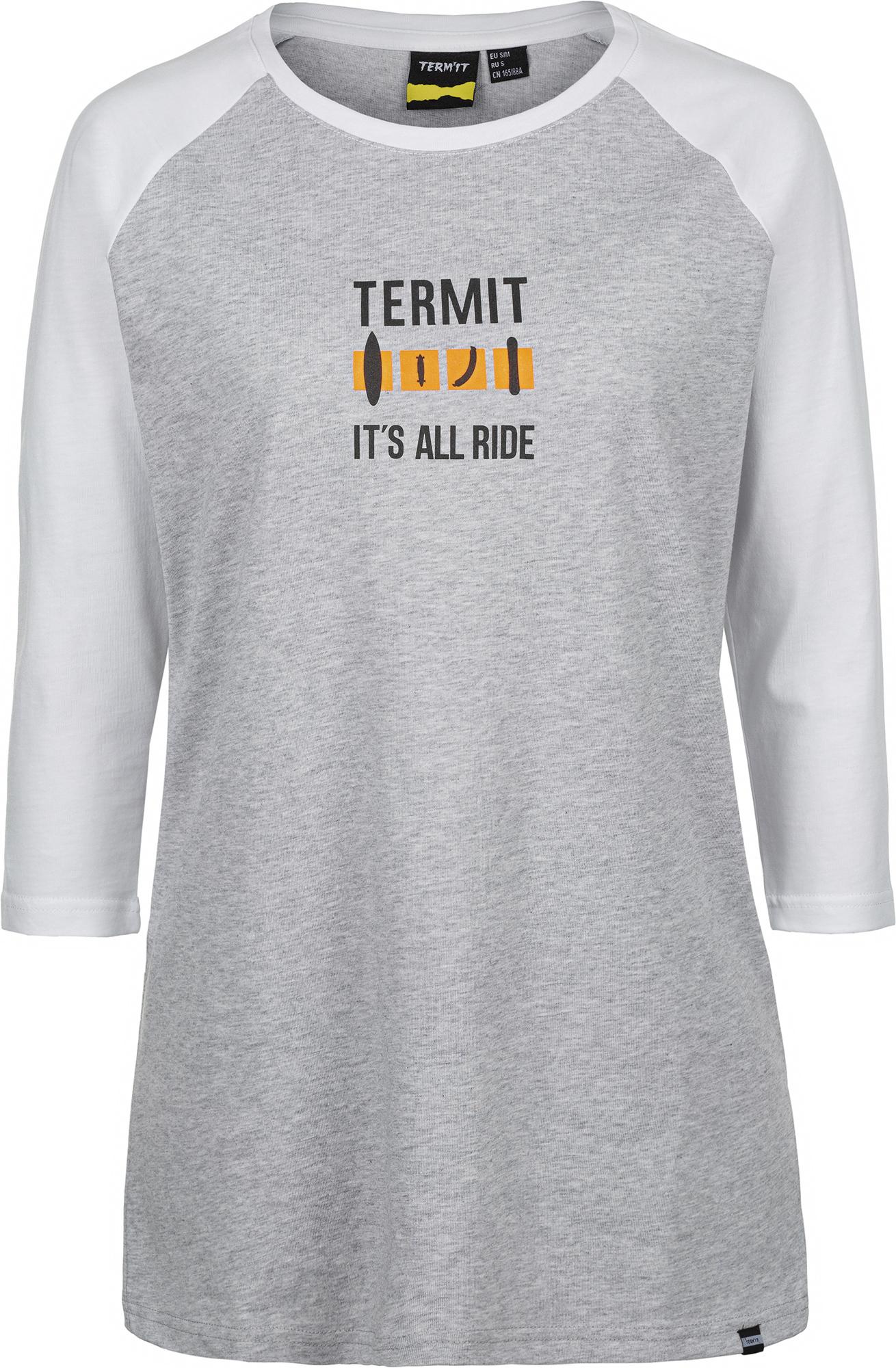 Termit Лонгслив женский Termit, размер 50 лонгслив termit termit te026emelxp8