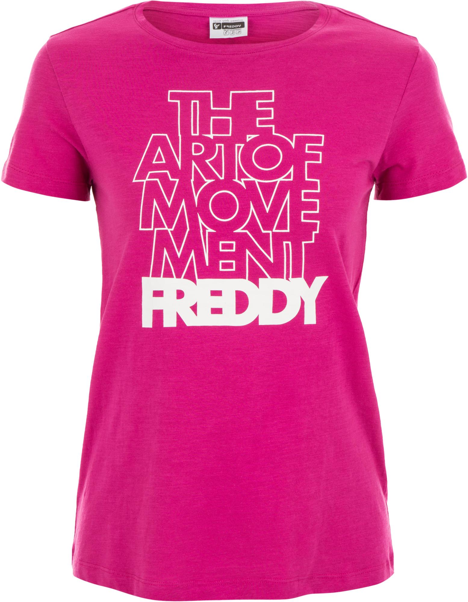 Freddy Футболка женская Freddy Choose Your Look, размер 48-50 недорго, оригинальная цена