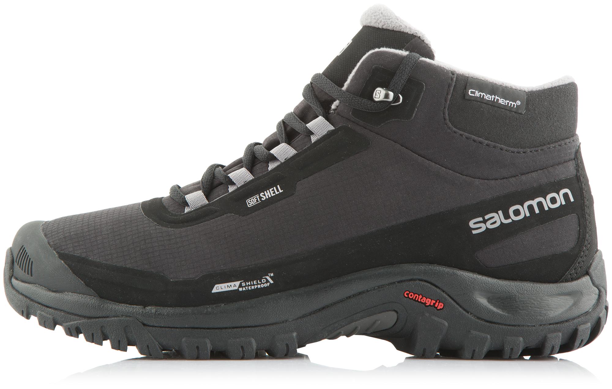 Salomon Ботинки утепленные мужские Salomon Shelter ботинки salomon ботинки shoes shelter spikes cs wp black bk ptr
