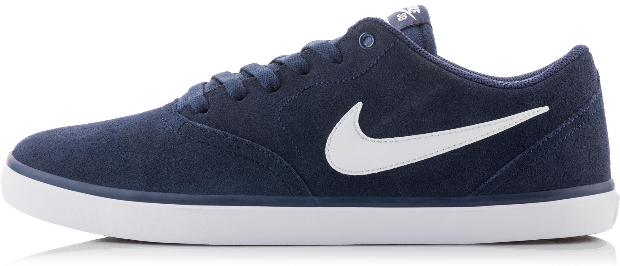 Nike Кеды мужские SB Check Solarsoft, размер 39,5