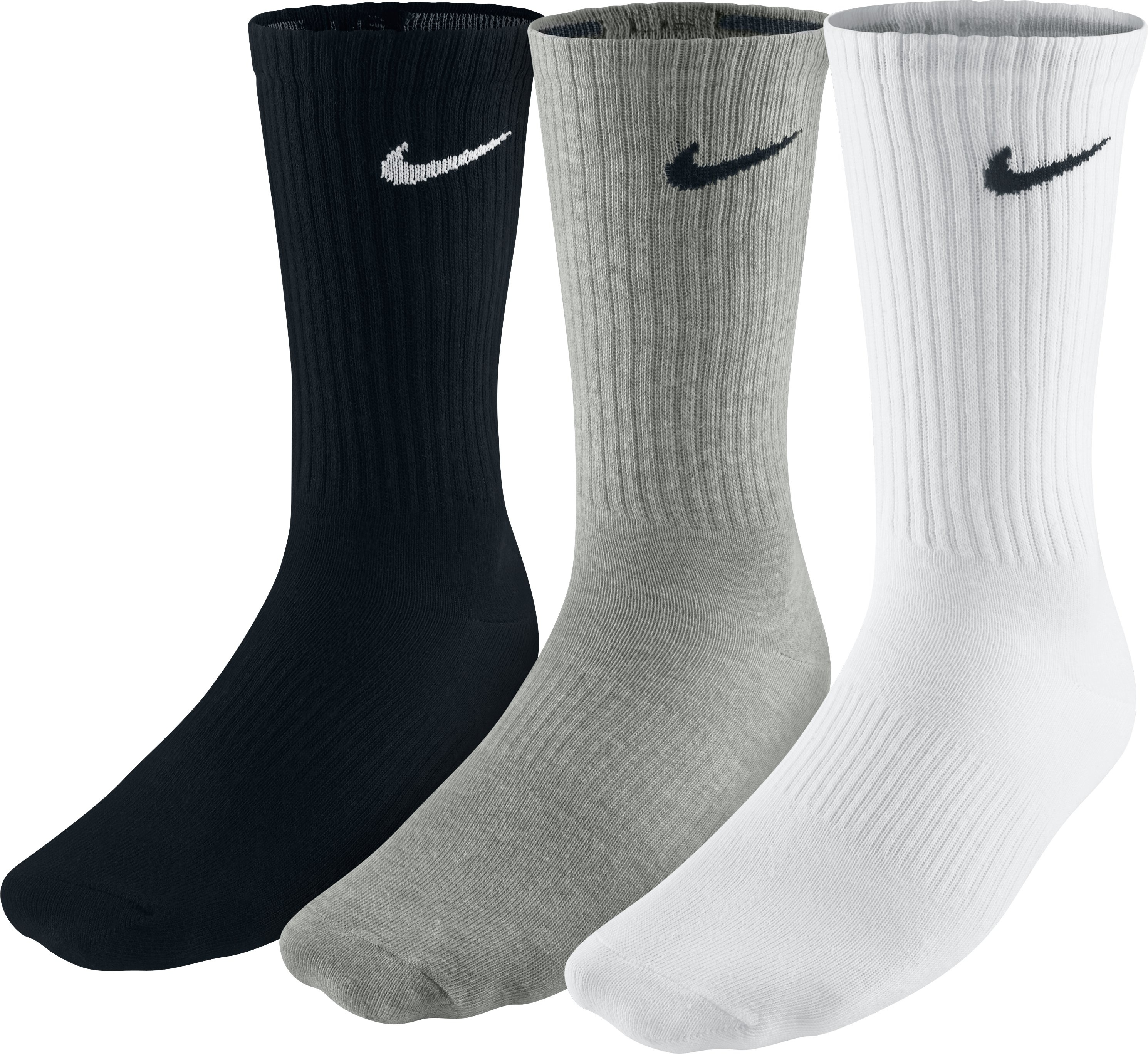 Nike Носки Nike Lightweight Crew, 3 пары, размер 33-37 цена и фото
