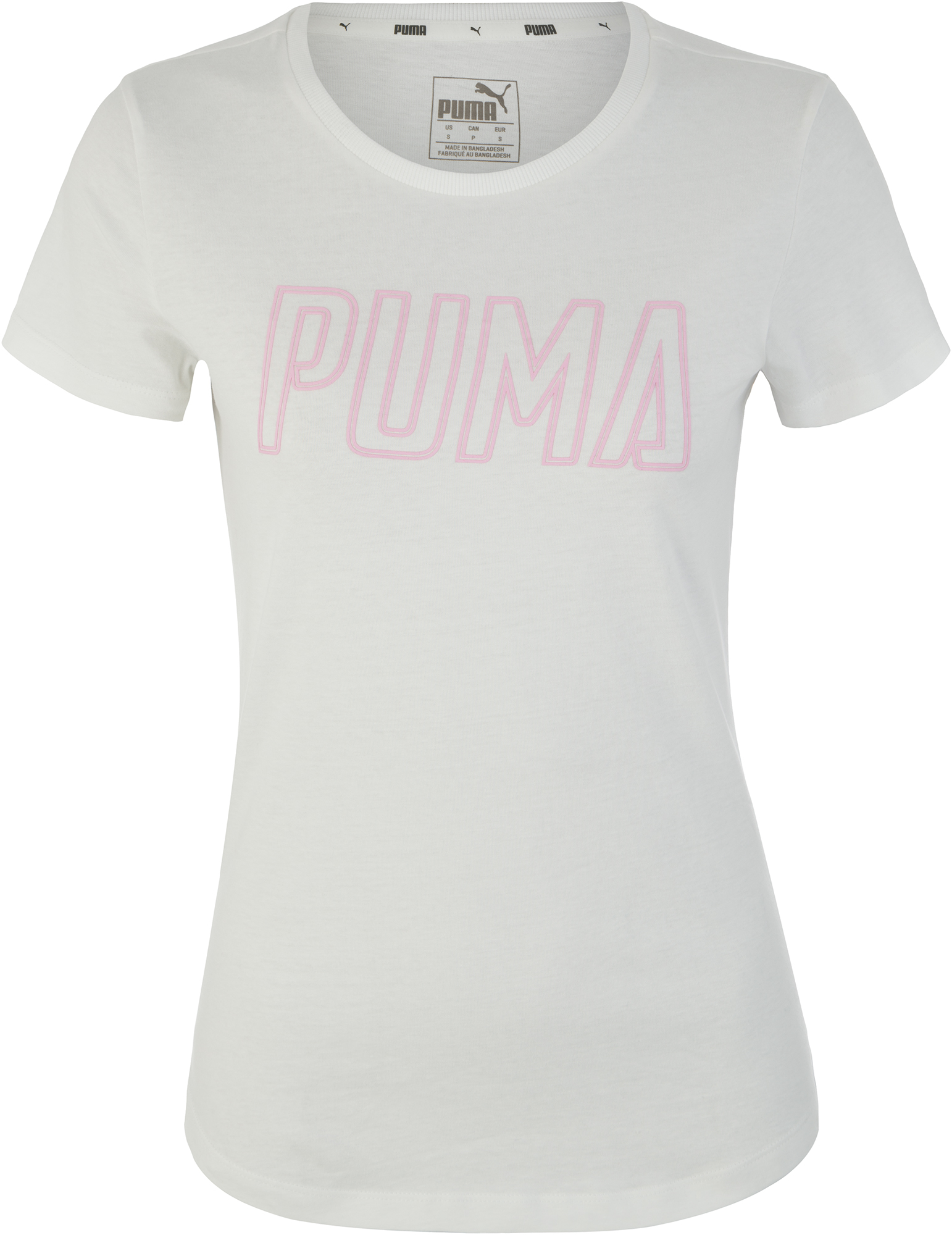 Puma Футболка женская Puma Athletics, размер 46-48 цена 2017