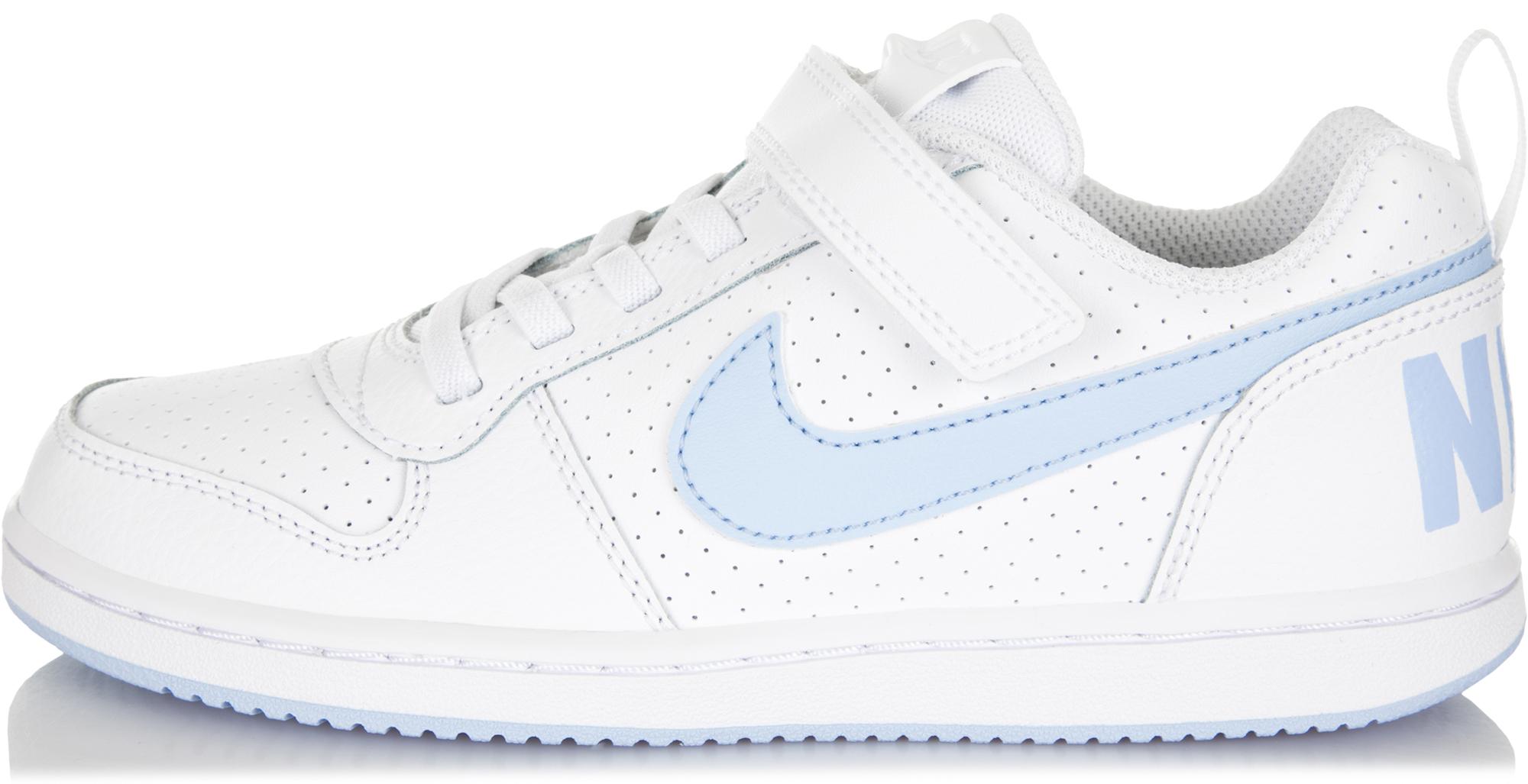 Nike Кеды для девочек Nike Court Borough Low, размер 33 цена