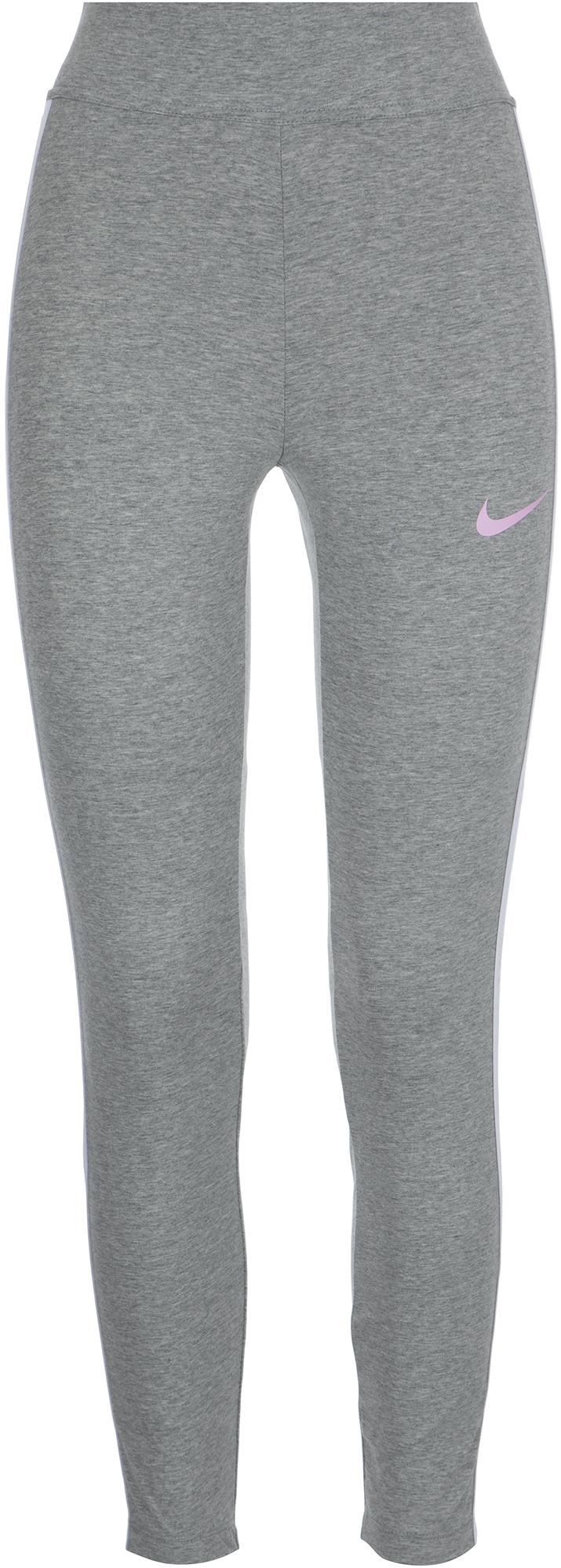 Nike Легинсы женские Nike Sportswear, размер 46-48 nike бриджи женские nike sportswear vintage размер 48 50