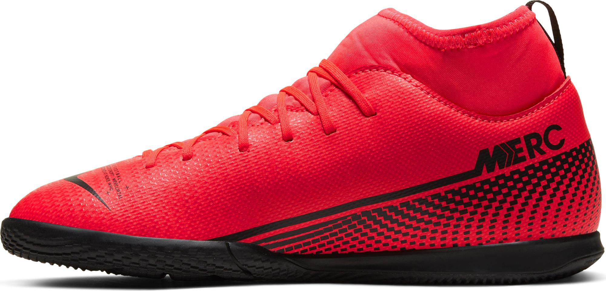 бутсы детские nike superfly 6 elite cr7 fg aj3086 109 Nike Бутсы для мальчиков Nike Superfly 7 Club Ic, размер 35