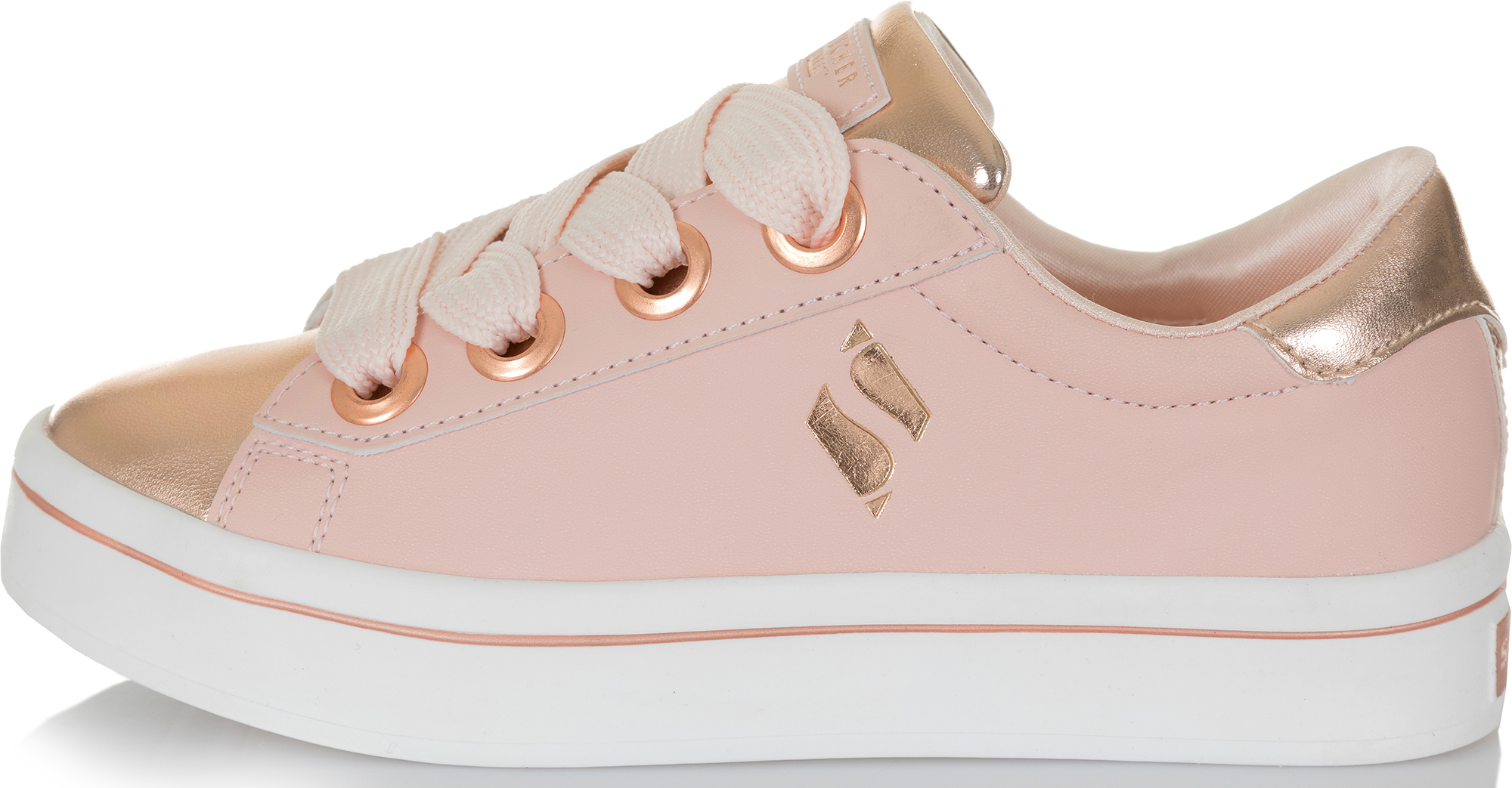 Skechers Кеды для девочек Hi-Lite-Medal Toes, размер 38