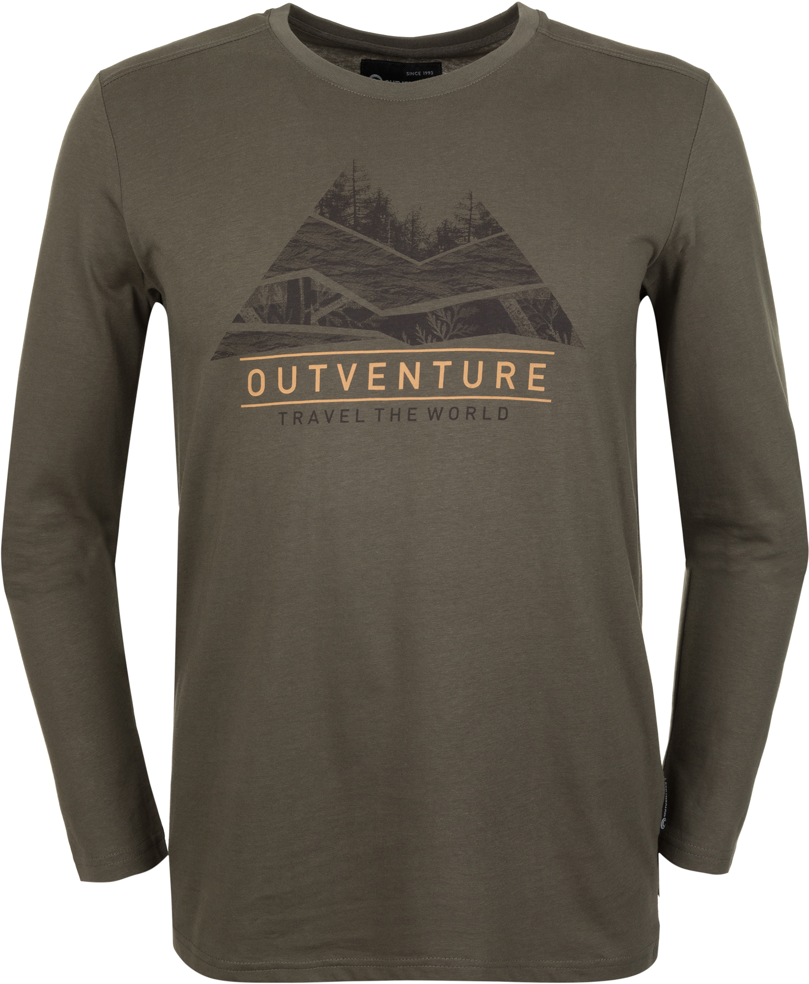 Outventure Футболка с длинным рукавом мужская Outventure, размер 52