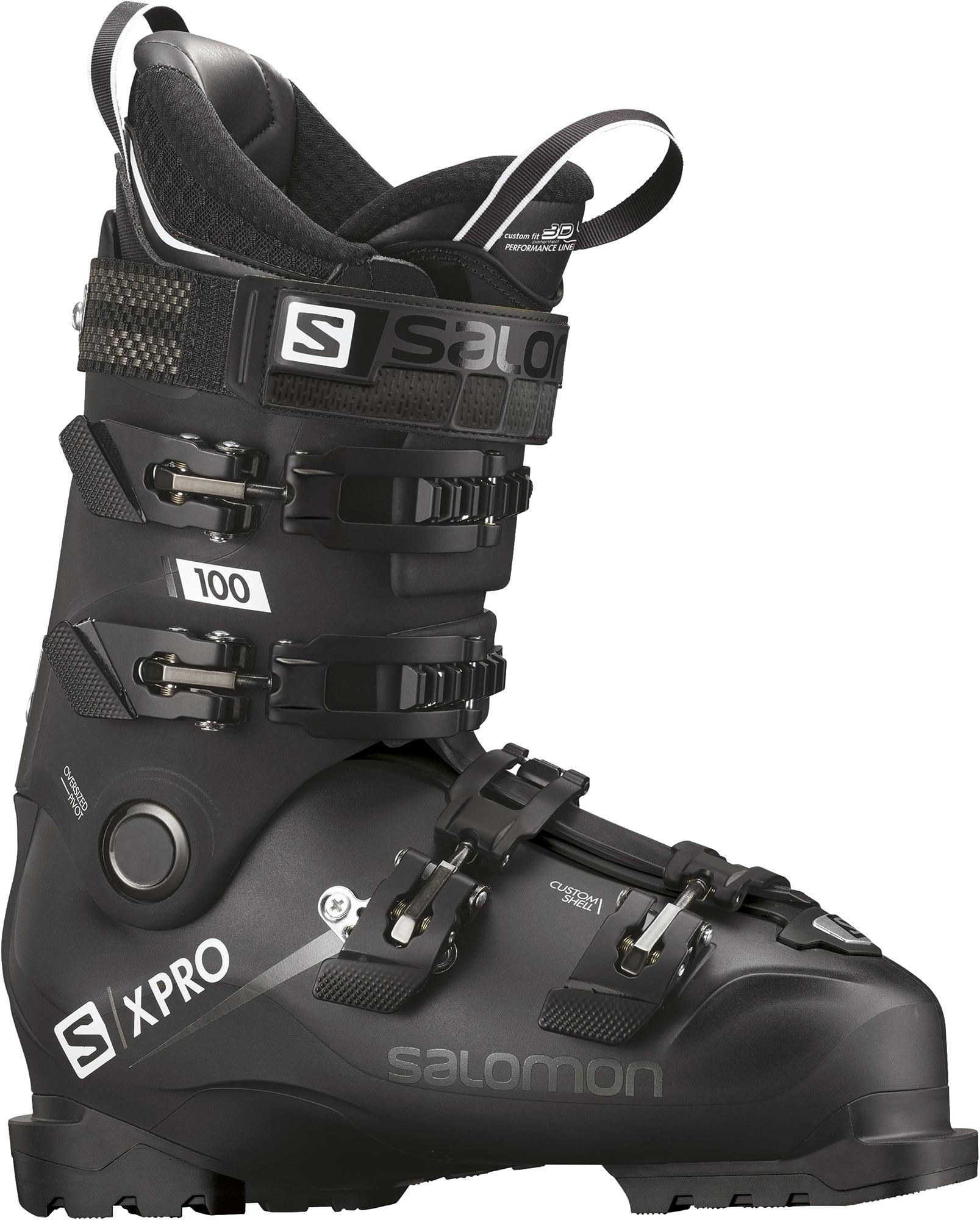 цена Salomon Ботинки горнолыжные Salomon X PRO 100, размер 47 онлайн в 2017 году