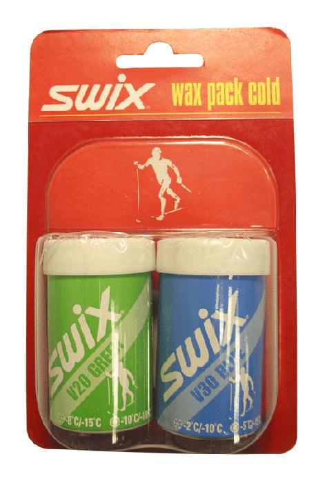 Swix Набор мазей Swix V20, V30 мазь твердая swix v0060 swix красный 45гр
