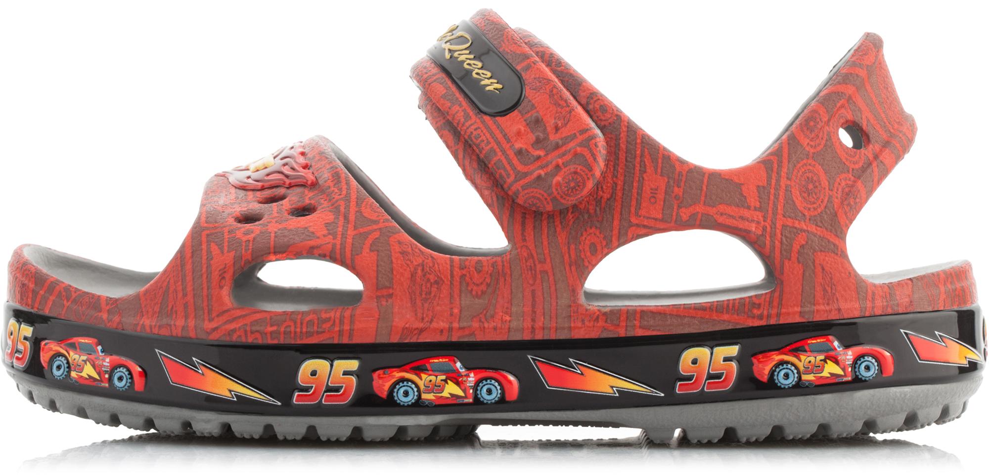 Crocs Сандалии для мальчиков Crocs Crocband II Lightning McQueen