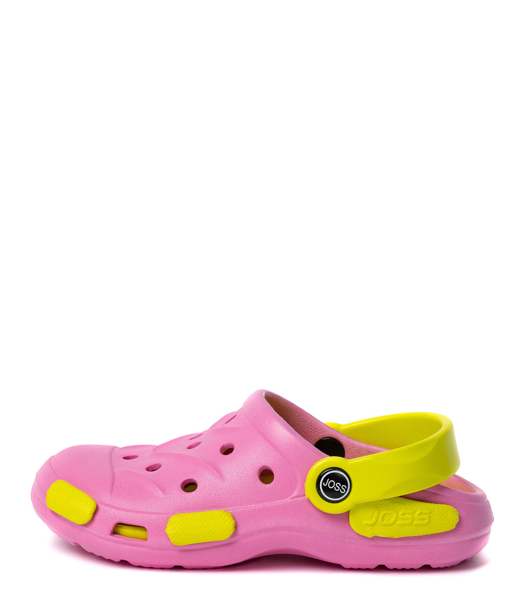 Joss Шлепанцы для девочек Joss Garden Shoes, размер 26-27 цена 2017