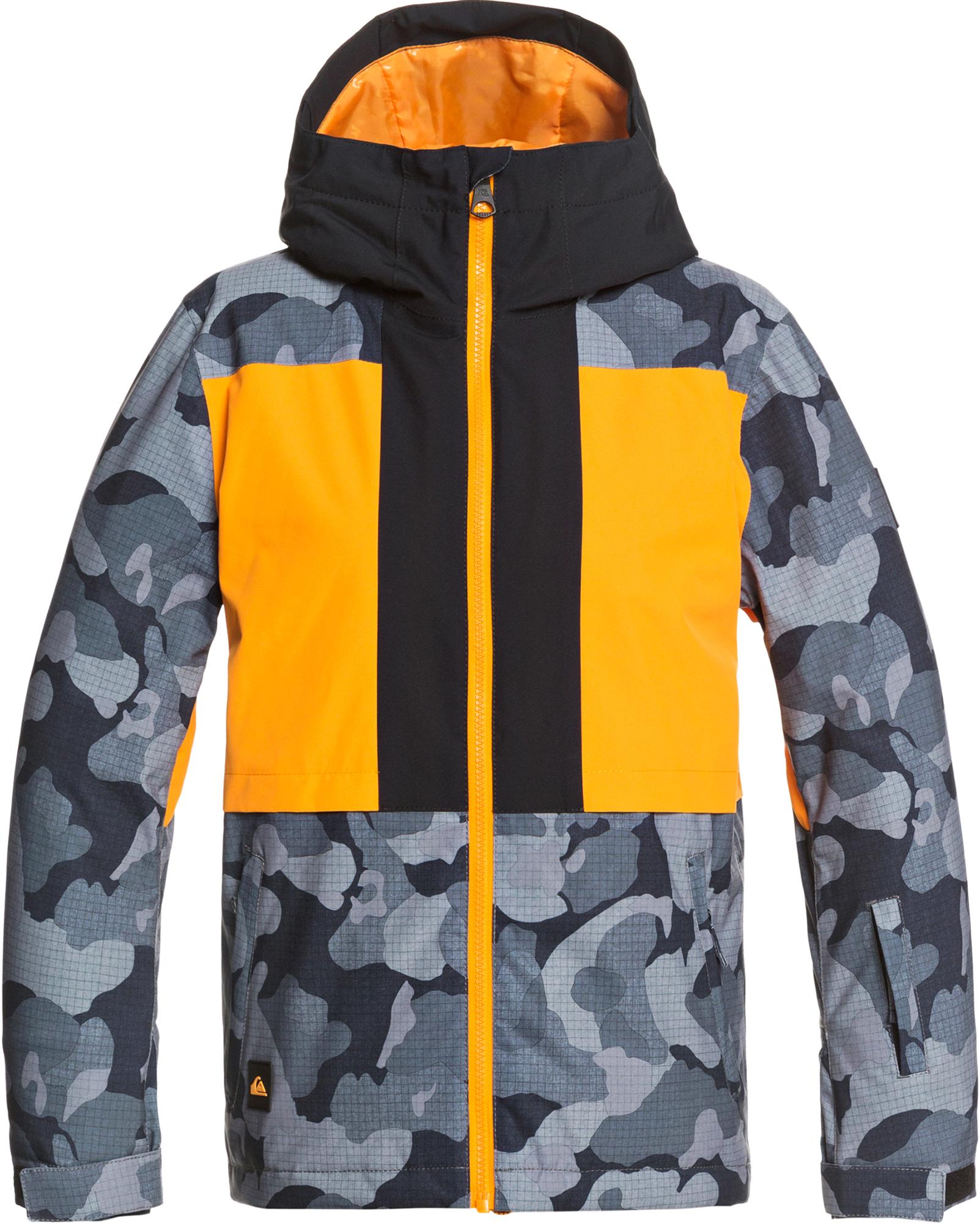 Quiksilver Куртка утепленная для мальчиков Quiksilver Groomer, размер 146-152