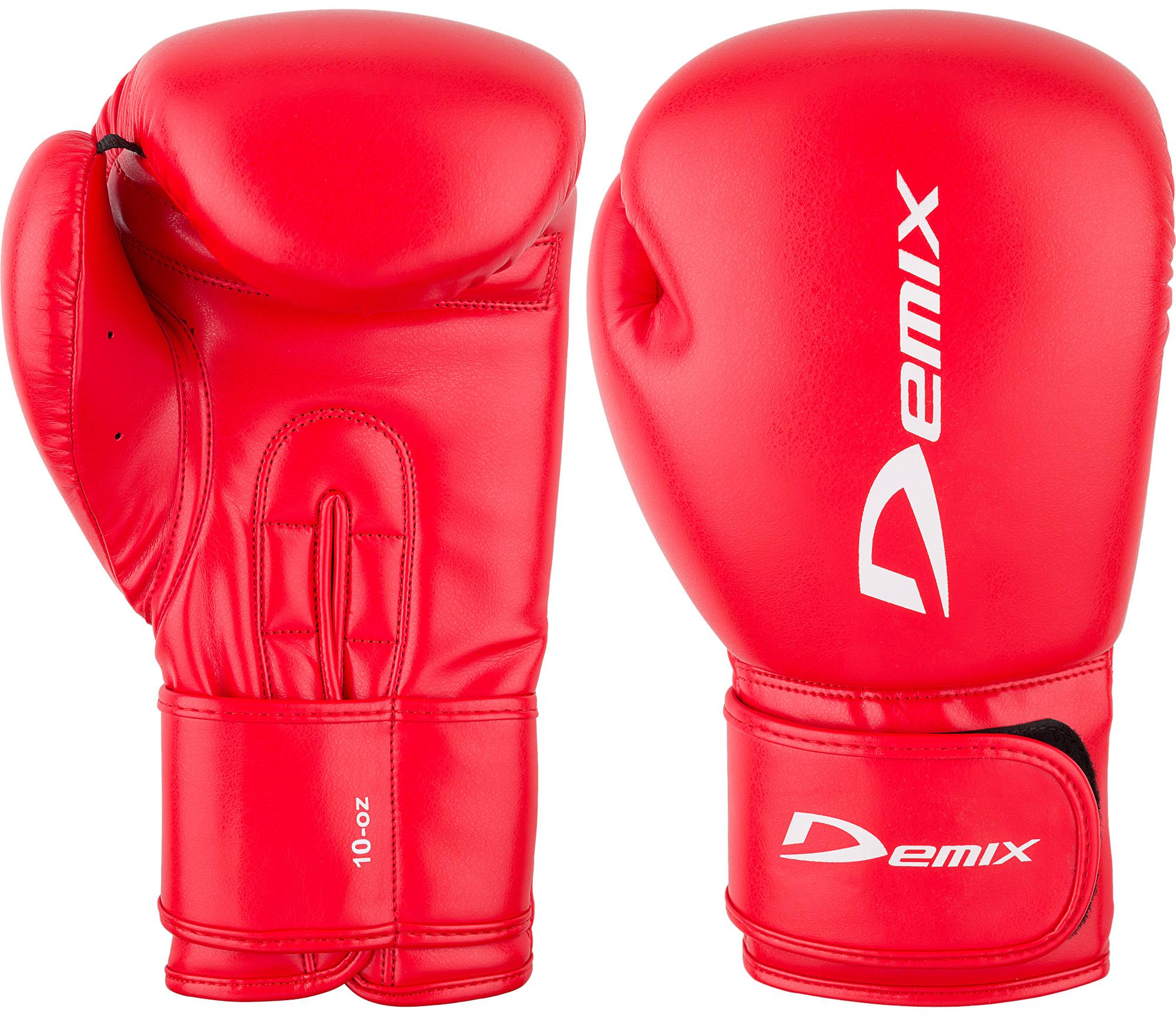 Demix Перчатки боксерские Demix, размер 14 oz цена