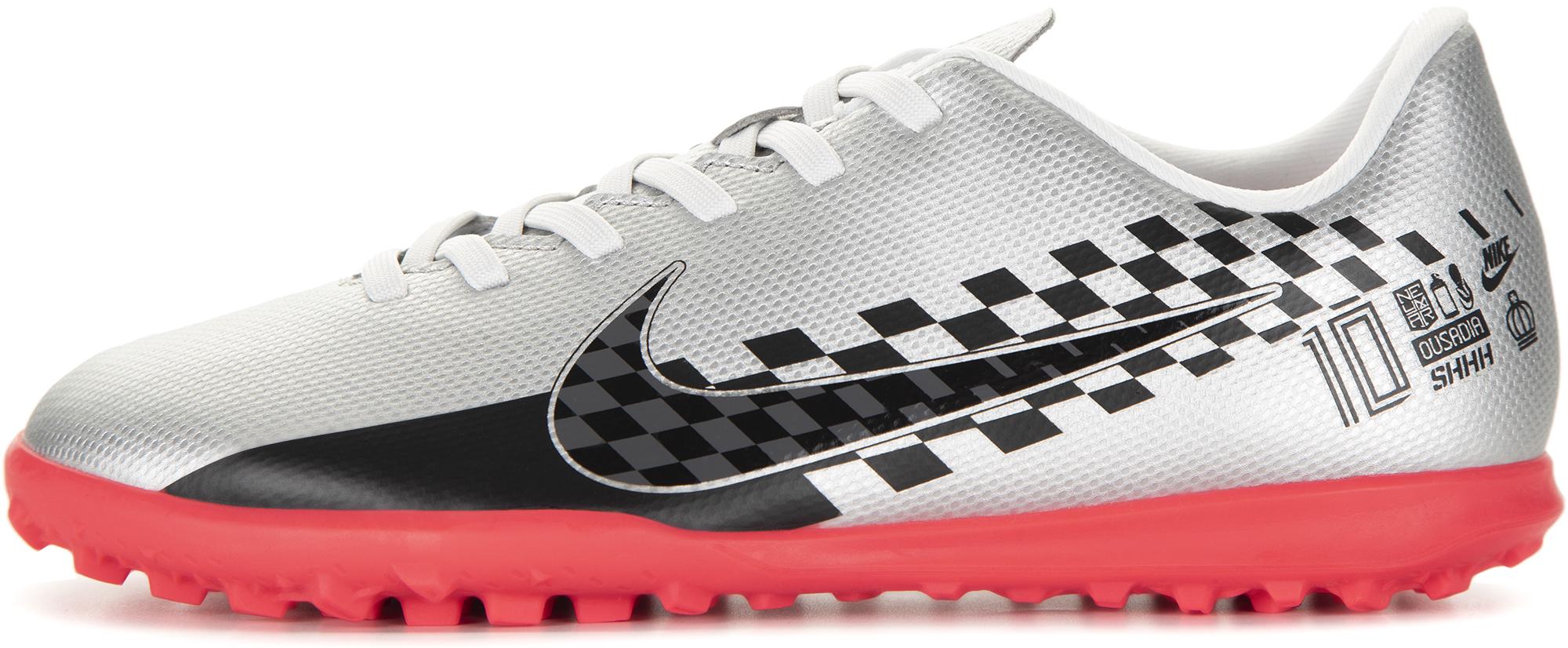 Nike Бутсы детские Jr Vapor 13 Club Njr TF, размер 37,5