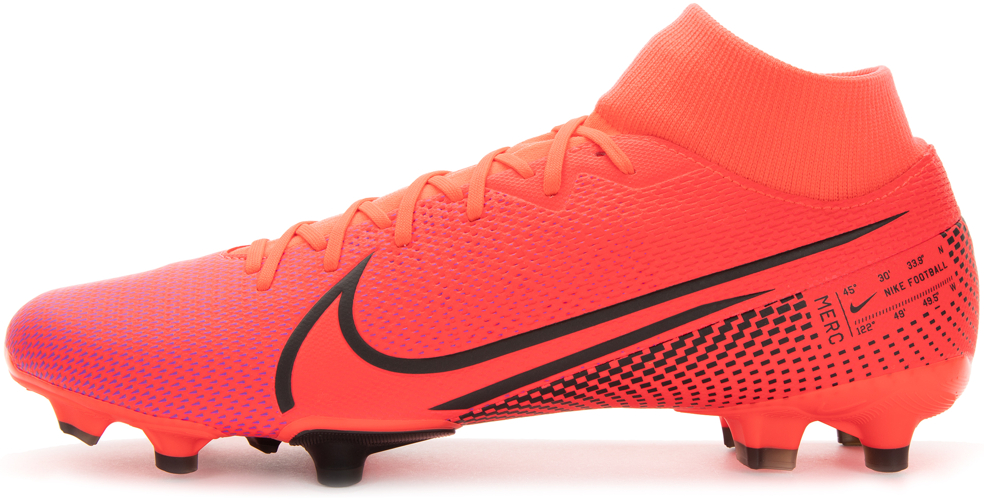 Nike Бутсы мужские Nike Superfly 7 Academy FG/MG, размер 43 бутсы nike superfly 6 club fg mg ah7363 001