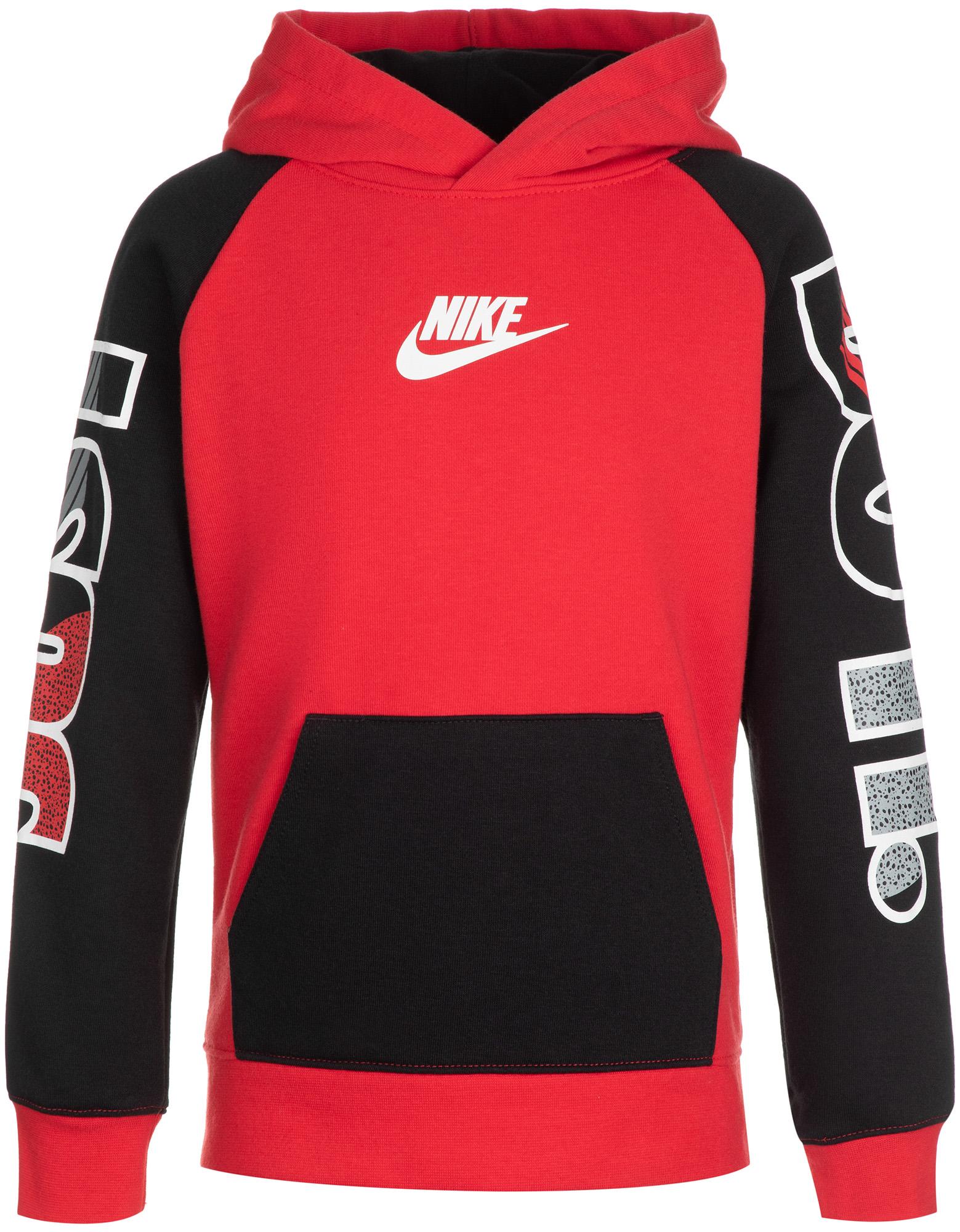 Фото - Nike Худи для мальчиков Nike Sportswear Just Do It Fly, размер 104 nike свитшот мужской nike sportswear just do it размер 52 54