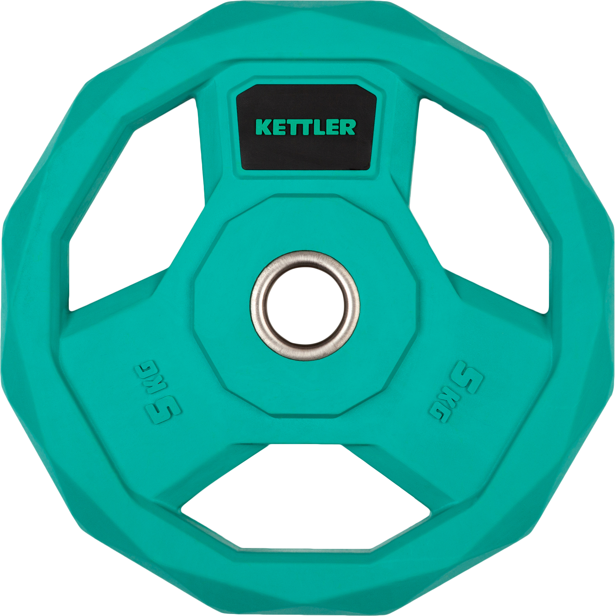 Kettler Блин стальной обрезиненный 5 кг