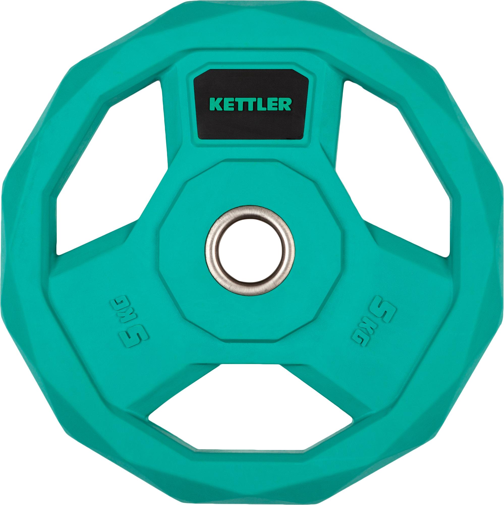 Kettler Блин стальной обрезиненный Kettler 5 кг