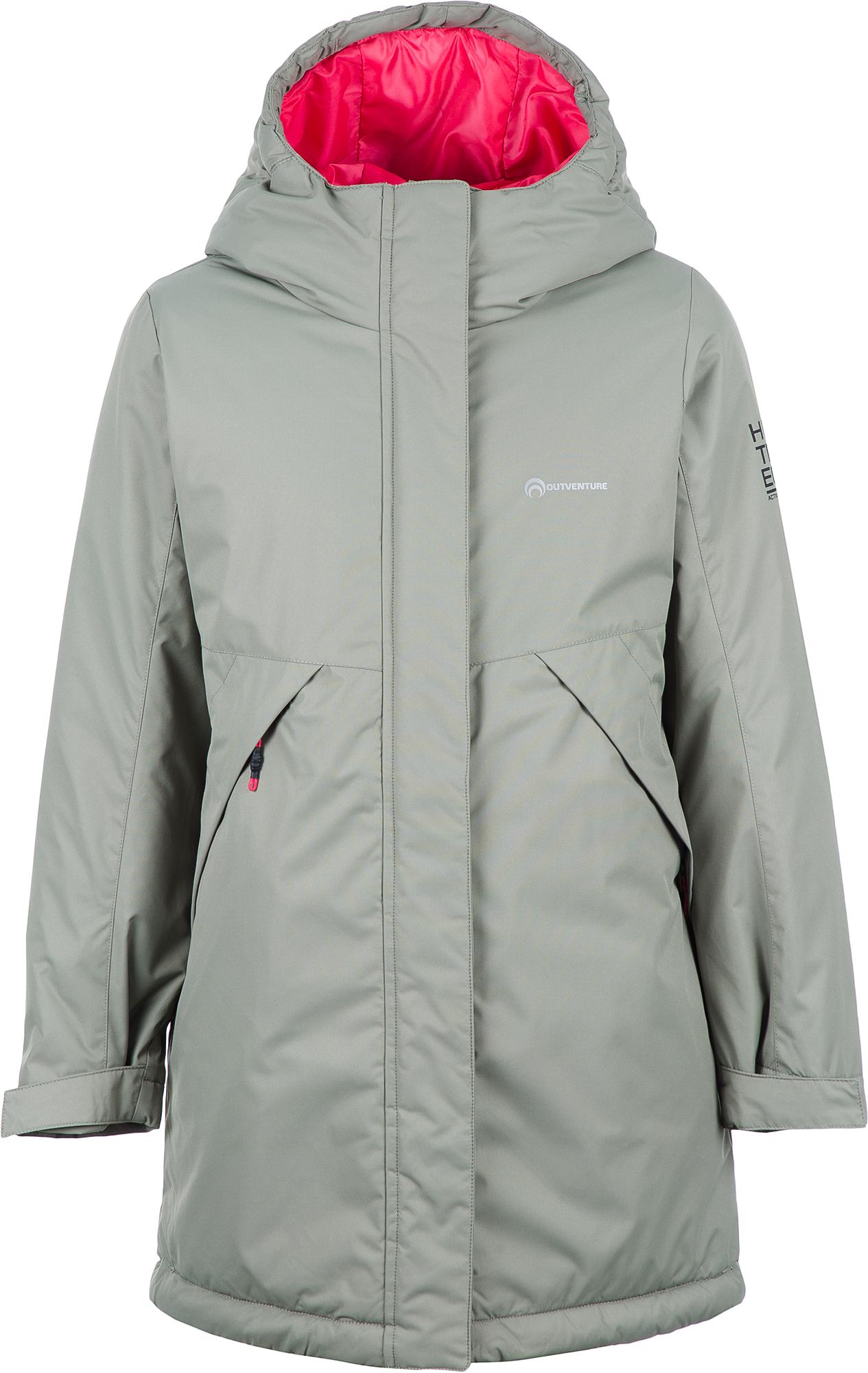 цена на Outventure Куртка утепленная для девочек Outventure, размер 140