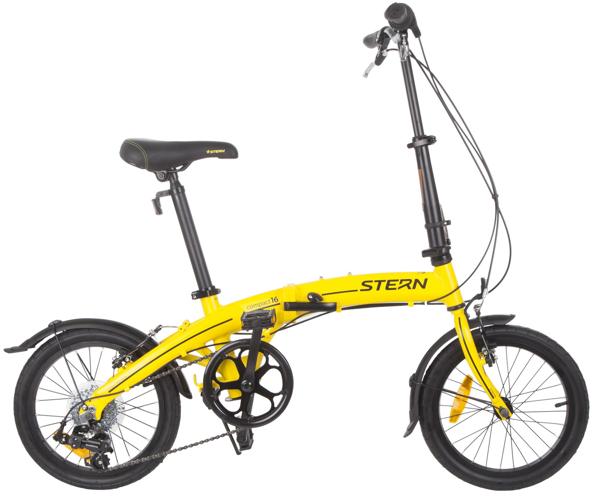 Stern Велосипед складной Stern Compact 16 цена
