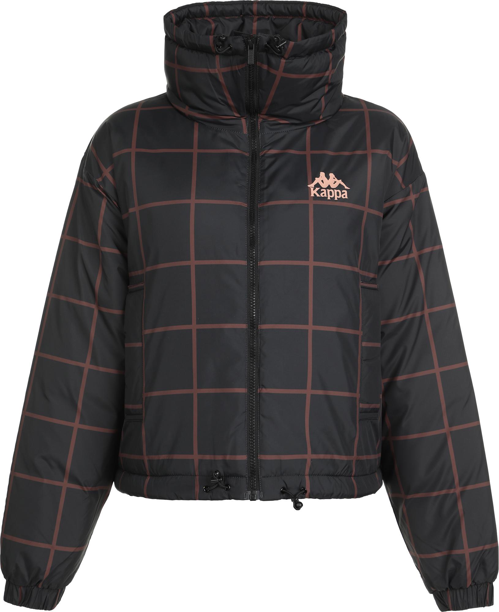 Kappa Куртка утепленная женская Kappa, размер 42-44 куртка женская elfina цвет черный 88057 100 размер 44