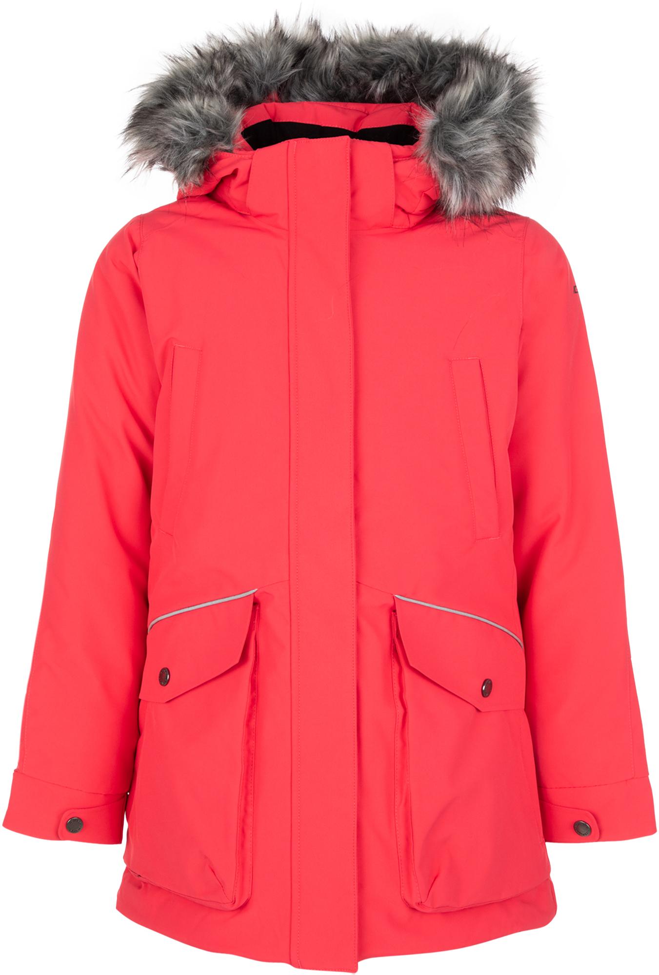 IcePeak Куртка утепленная для девочек IcePeak Kite, размер 164 костюм куртка брюки для девочек icepeak 452002654iv цвет фиолетовый р 164 100%полиэстер 740