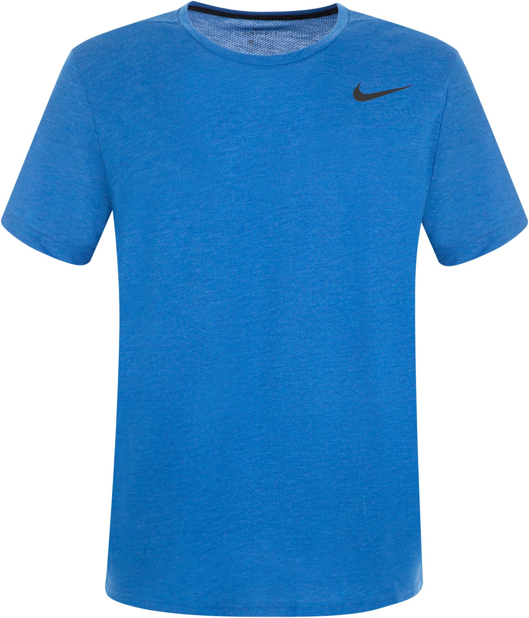 Nike Футболка мужская Nike Dri-FIT Breathe, размер 52-54 nike футболка мужская nike cool miler