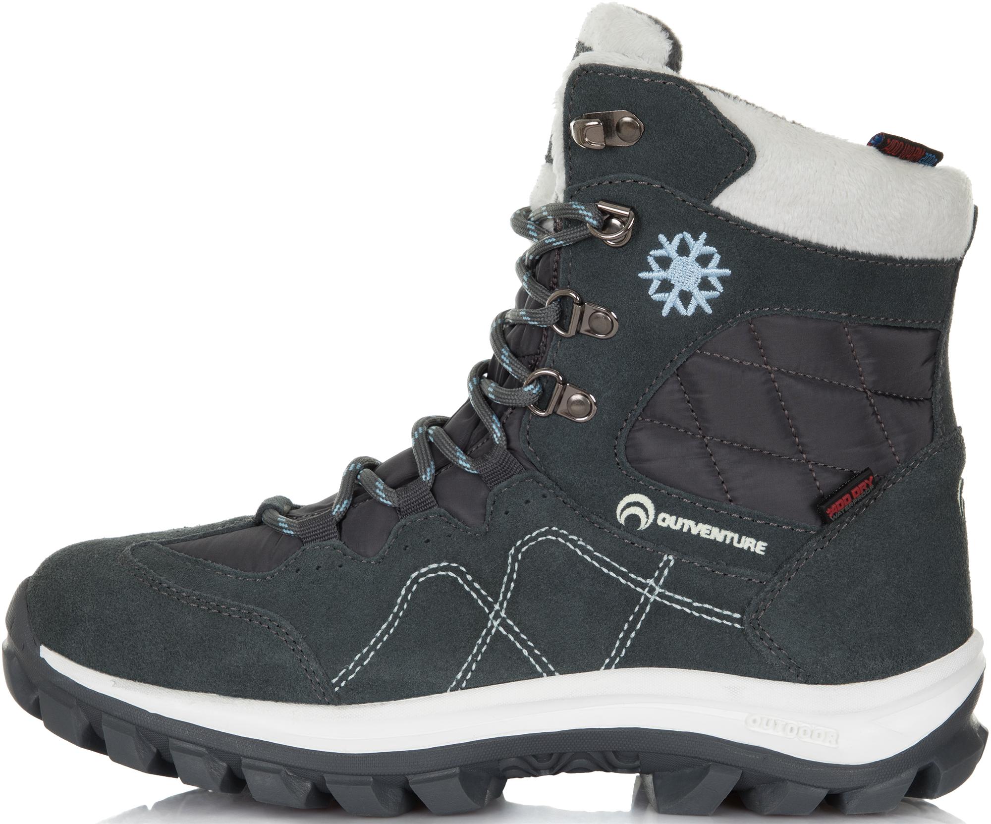 Outventure Ботинки утепленные женские Outventure Snowflake, размер 36 ботинки женские daze цвет темно серый 16507z 3 2l размер 36