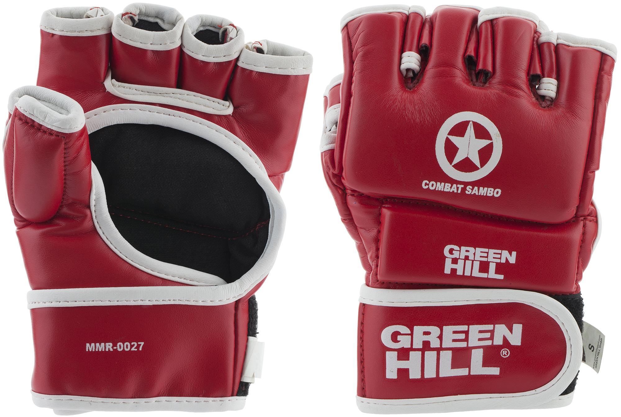 Green Hill Перчатки Green Hill Combat Sambo, размер 14 green hill перчатки green hill mma combat sambo mmc 0026cs xl кожа синие