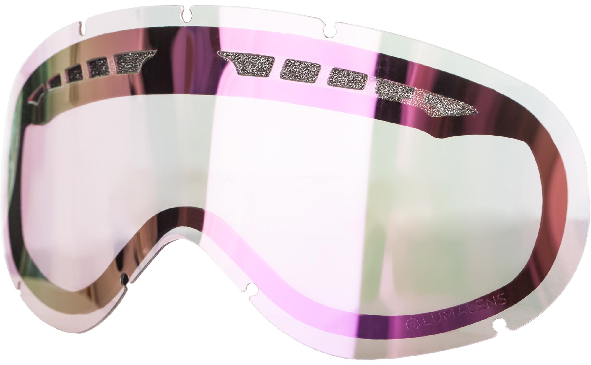 Dragon Линза для маски Dragon DX RPL LENS - Lumalens Pink Ion линза для маски мото вело oakley half jacket xlj repl lens kit black iridium