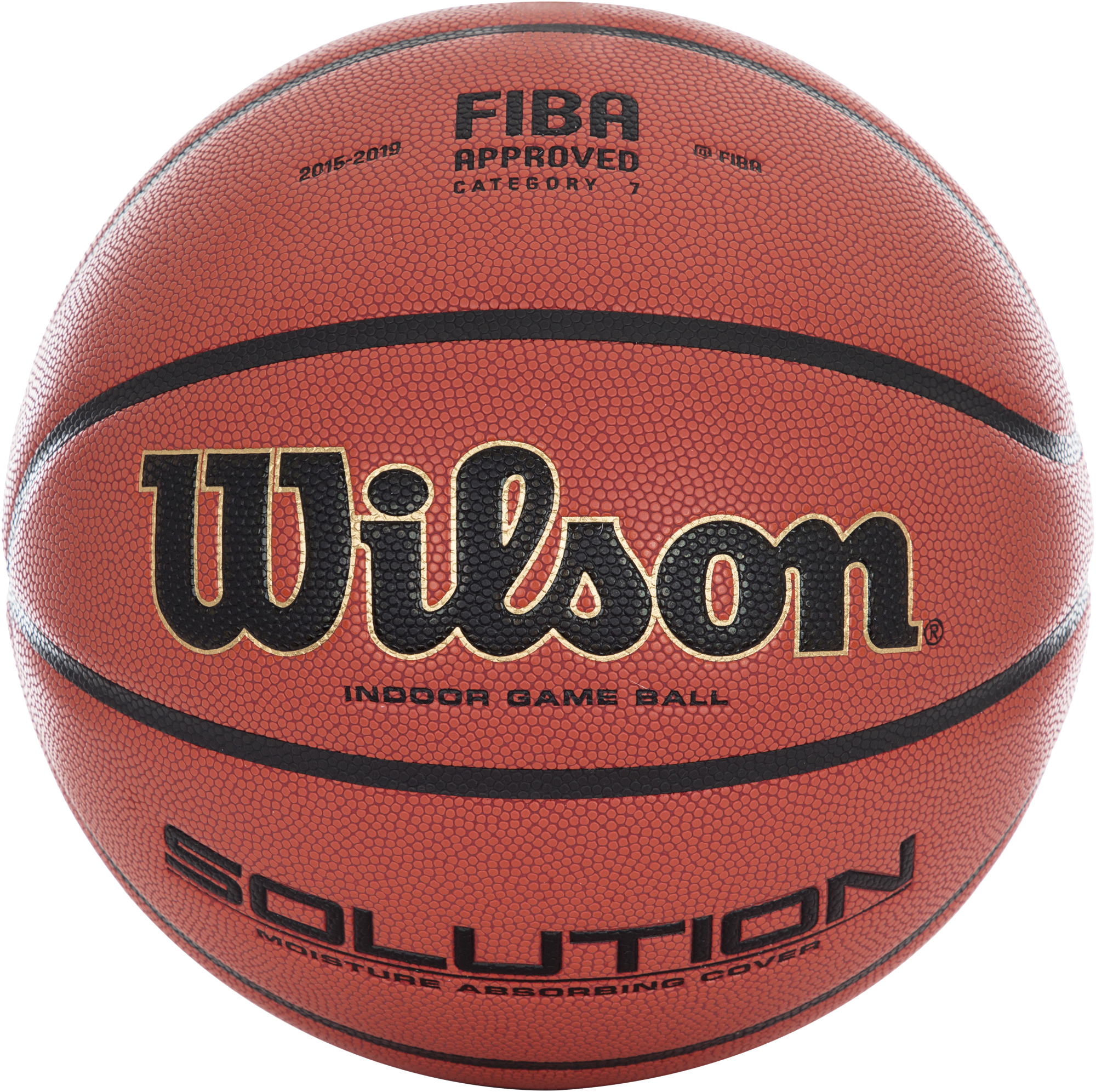 Wilson Мяч баскетбольный Wilson SOLUTION OFFICIAL GAME BALL все цены