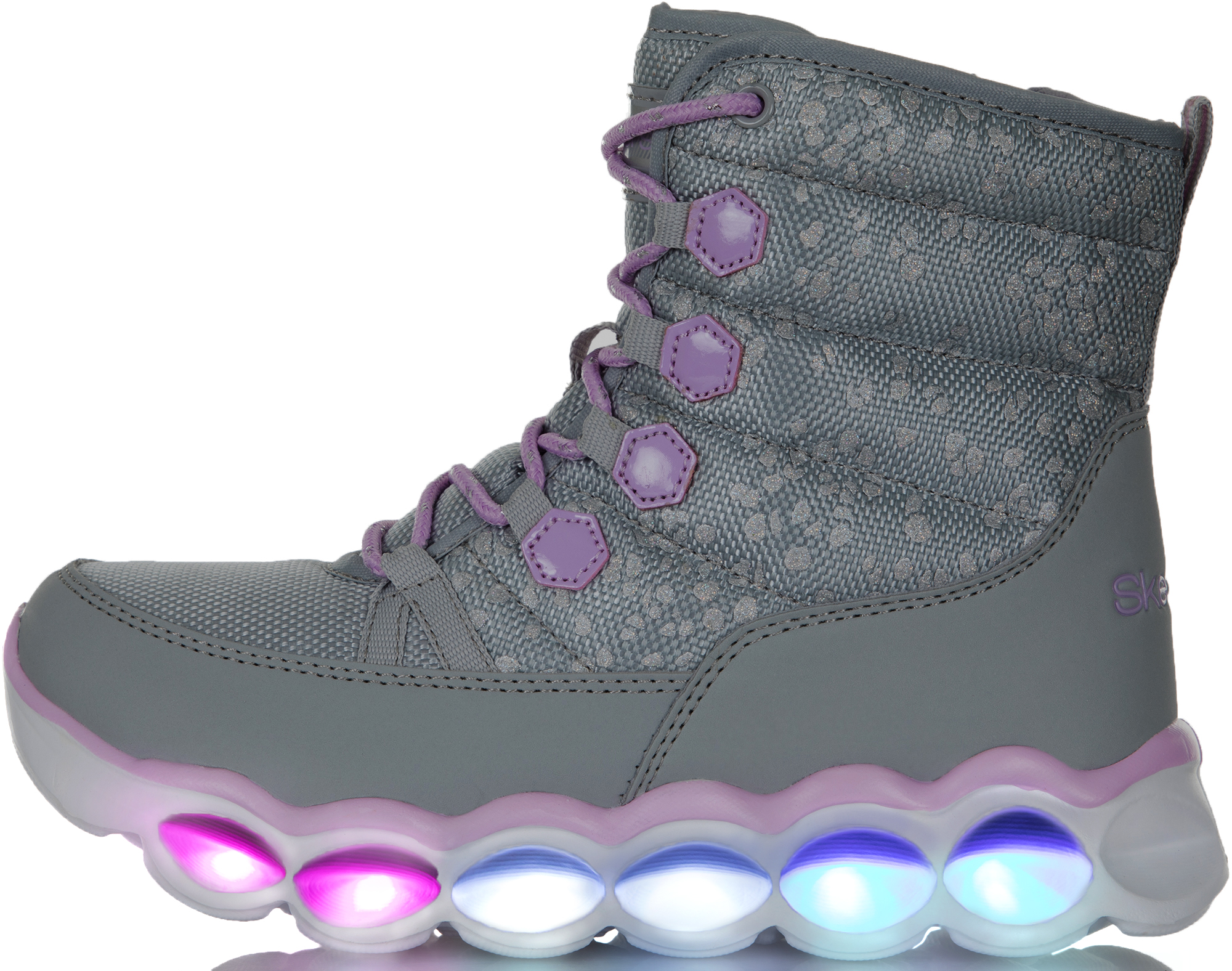 Skechers Сапоги для девочек Lumi-Luxe, размер 31