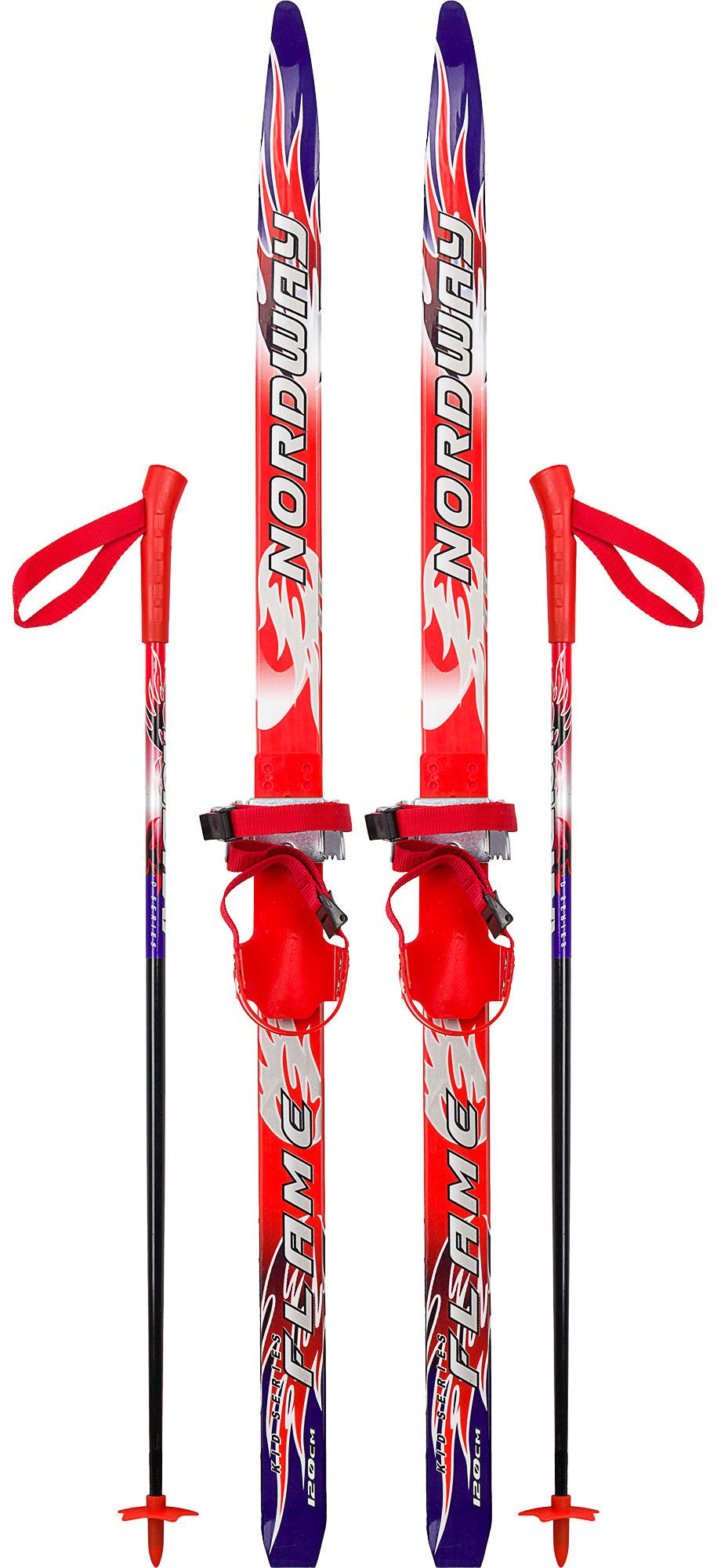Nordway Комплект лыжный детский Flame Soft