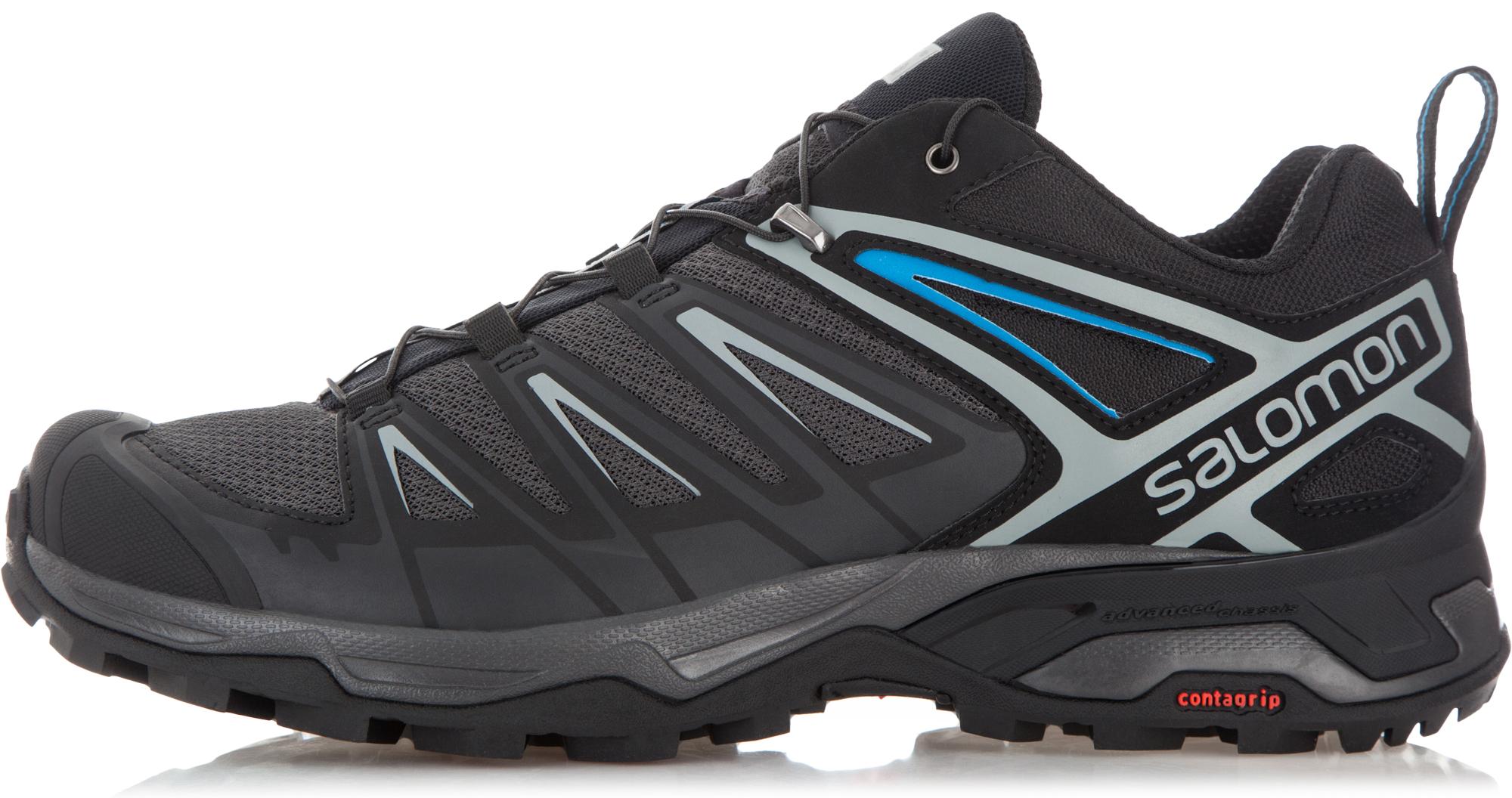 Salomon Полуботинки мужские Salomon X Ultra 3, размер 44 salomon ботинки горнолыжные salomon x pro 110 размер 44