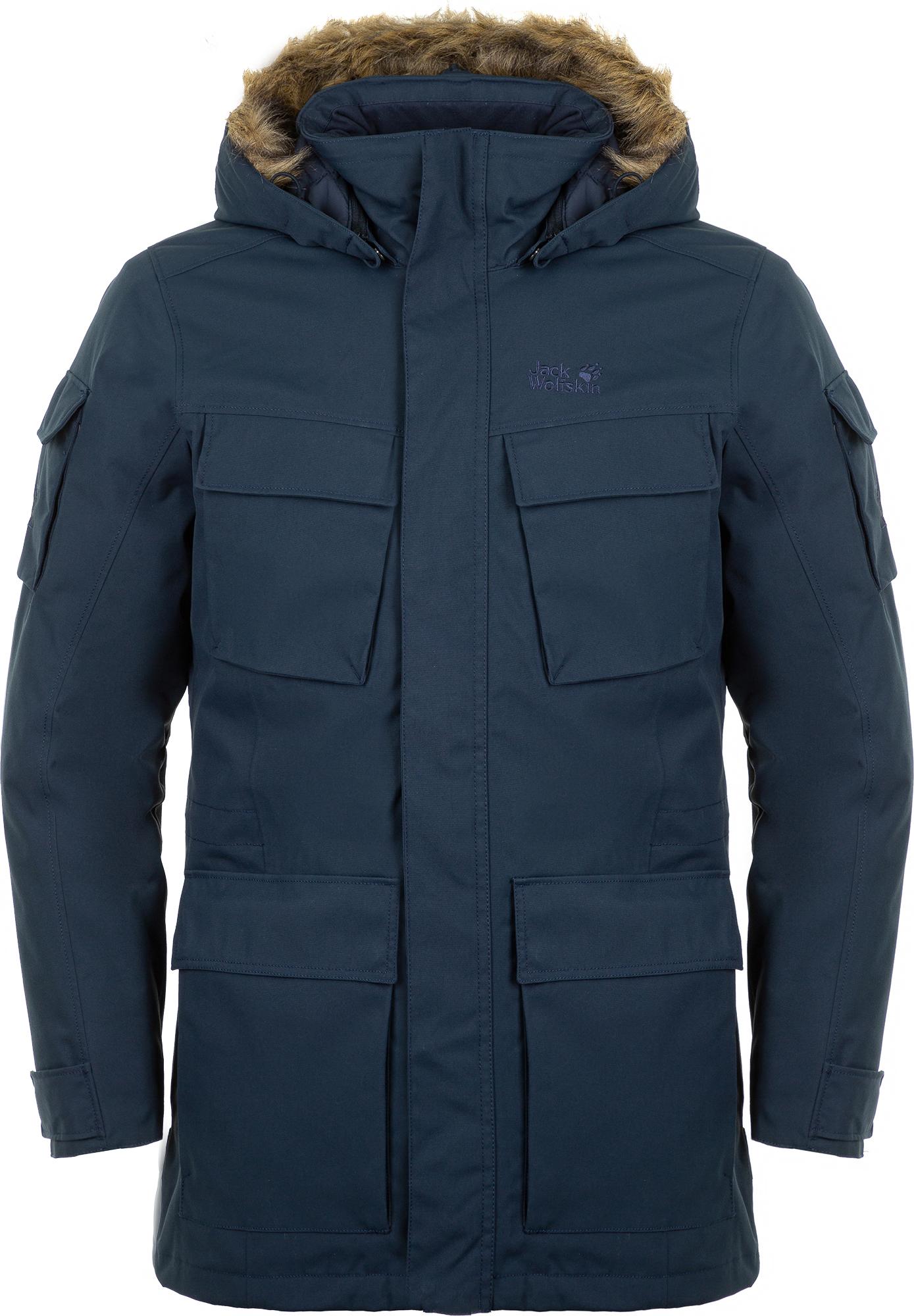 Jack Wolfskin Куртка утепленная мужская Jack Wolfskin Glacier Canyon, размер 58