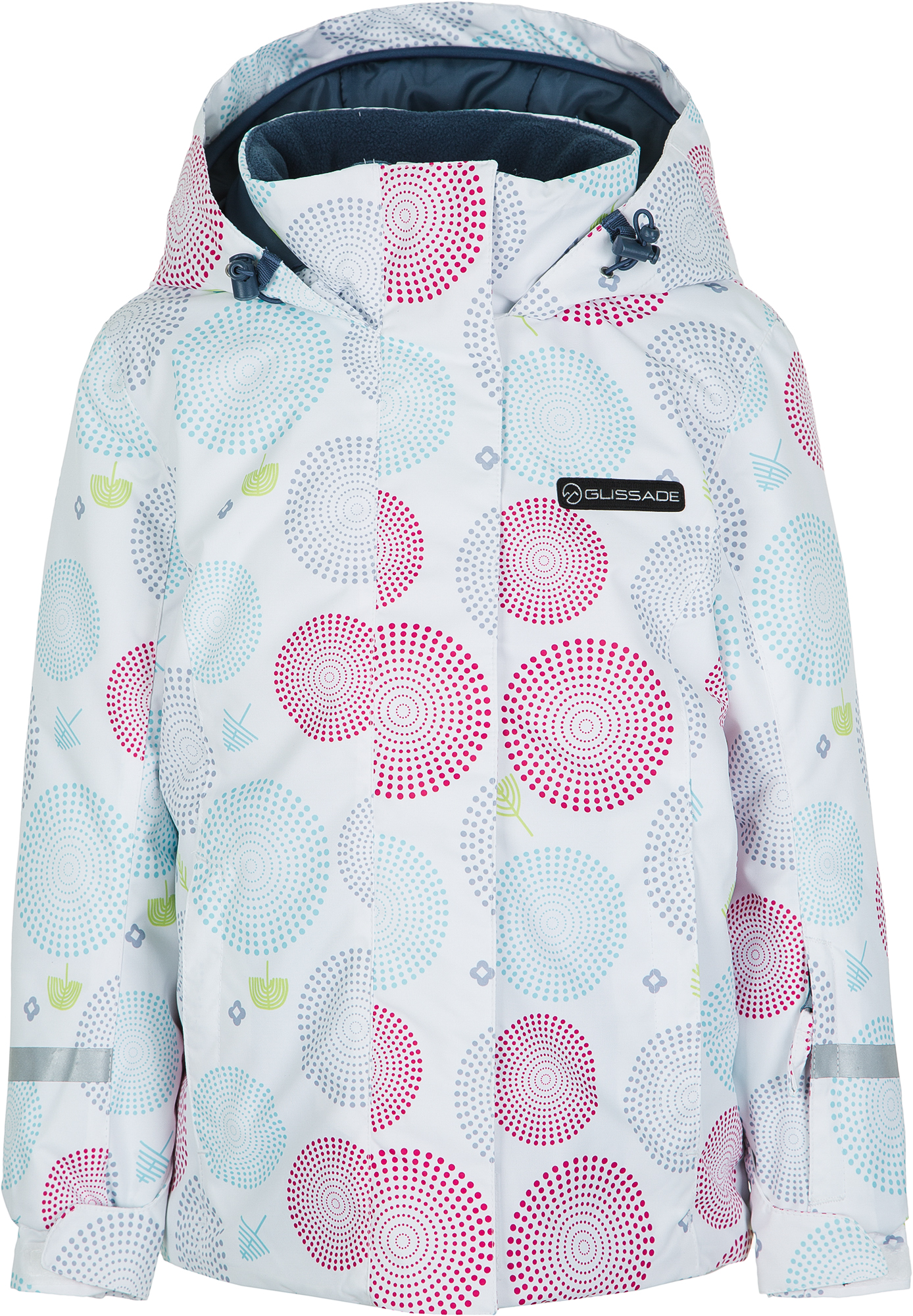 Glissade Куртка для девочек Glissade, размер 122