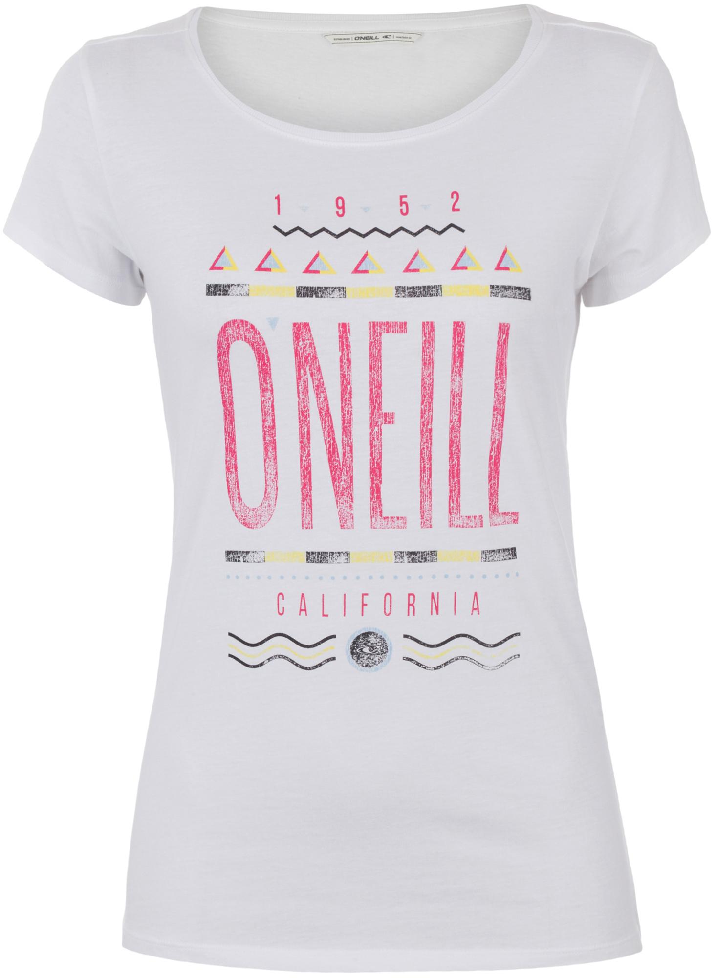 O'Neill Футболка женская O'Neill 90S Logo o neill майка женская o neill santa cruz garden