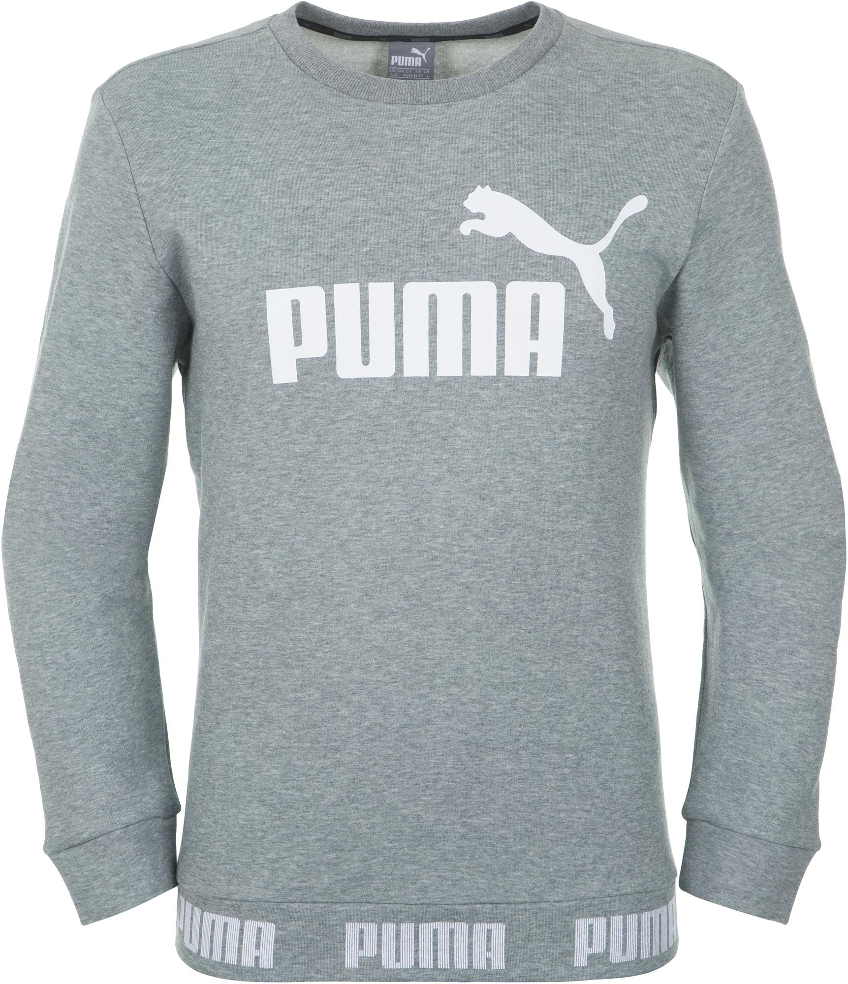Puma Джемпер мужской Puma Amplified Crew, размер 52-54