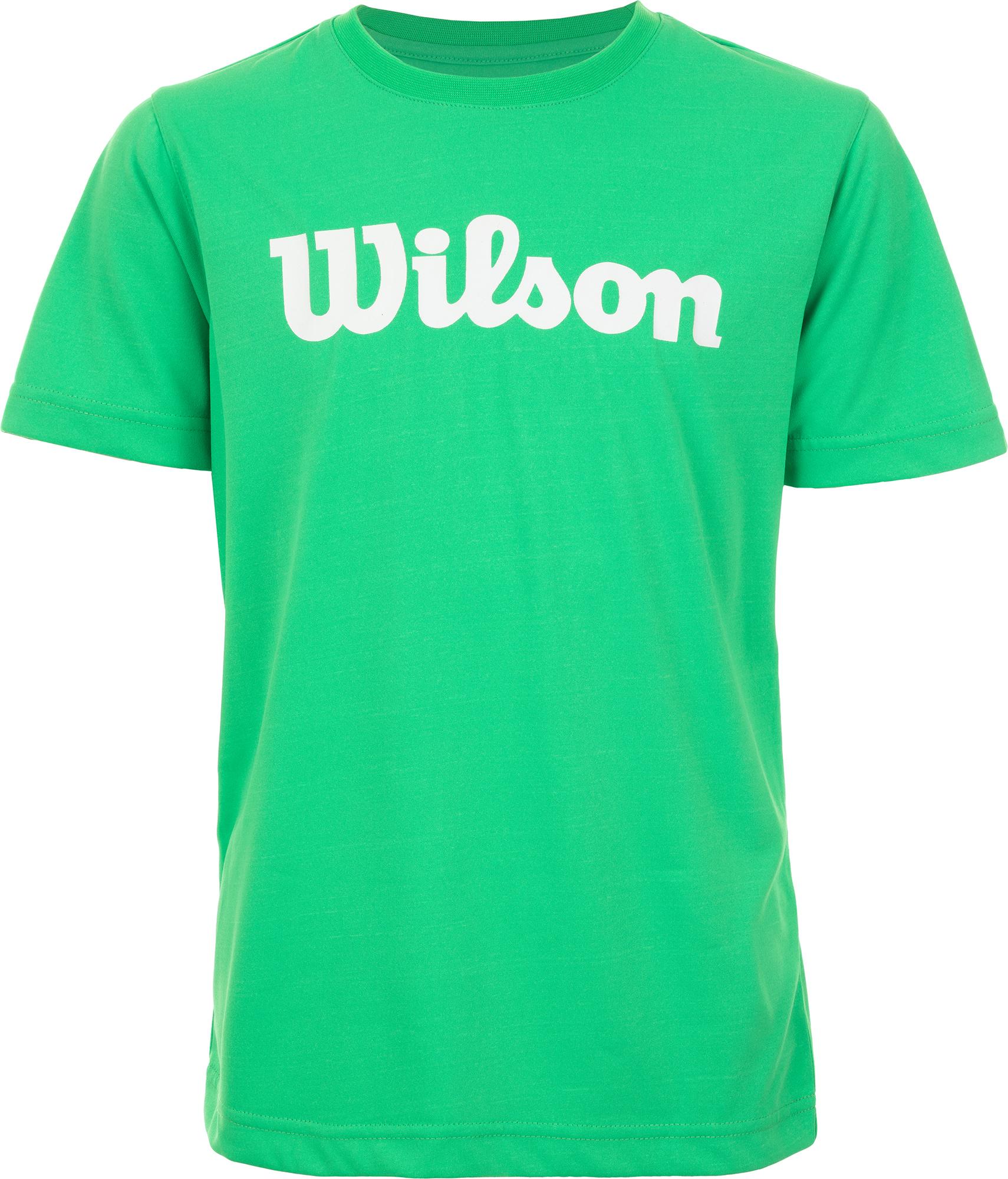 Wilson Футболка для мальчиков Wilson Team Script Tech Tee, размер 152-162 цена