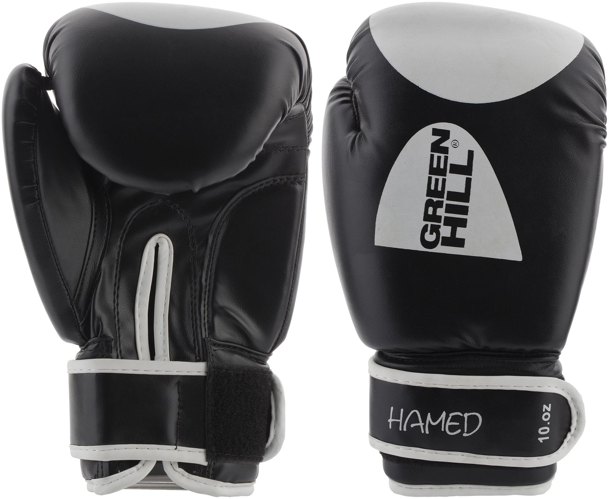 цена на Green Hill Перчатки боксерские Green Hill Hamed, размер 12 oz