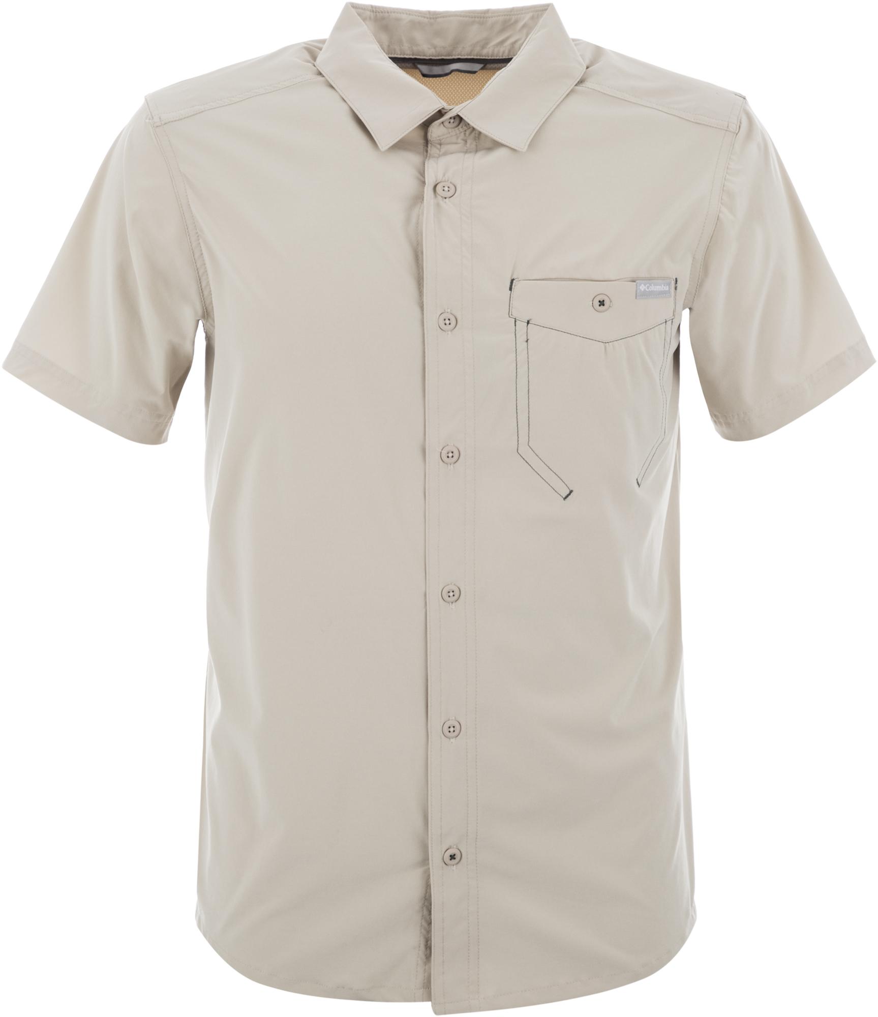 цена Columbia Рубашка мужская Columbia Triple Canyon Solid, размер 56-58 онлайн в 2017 году